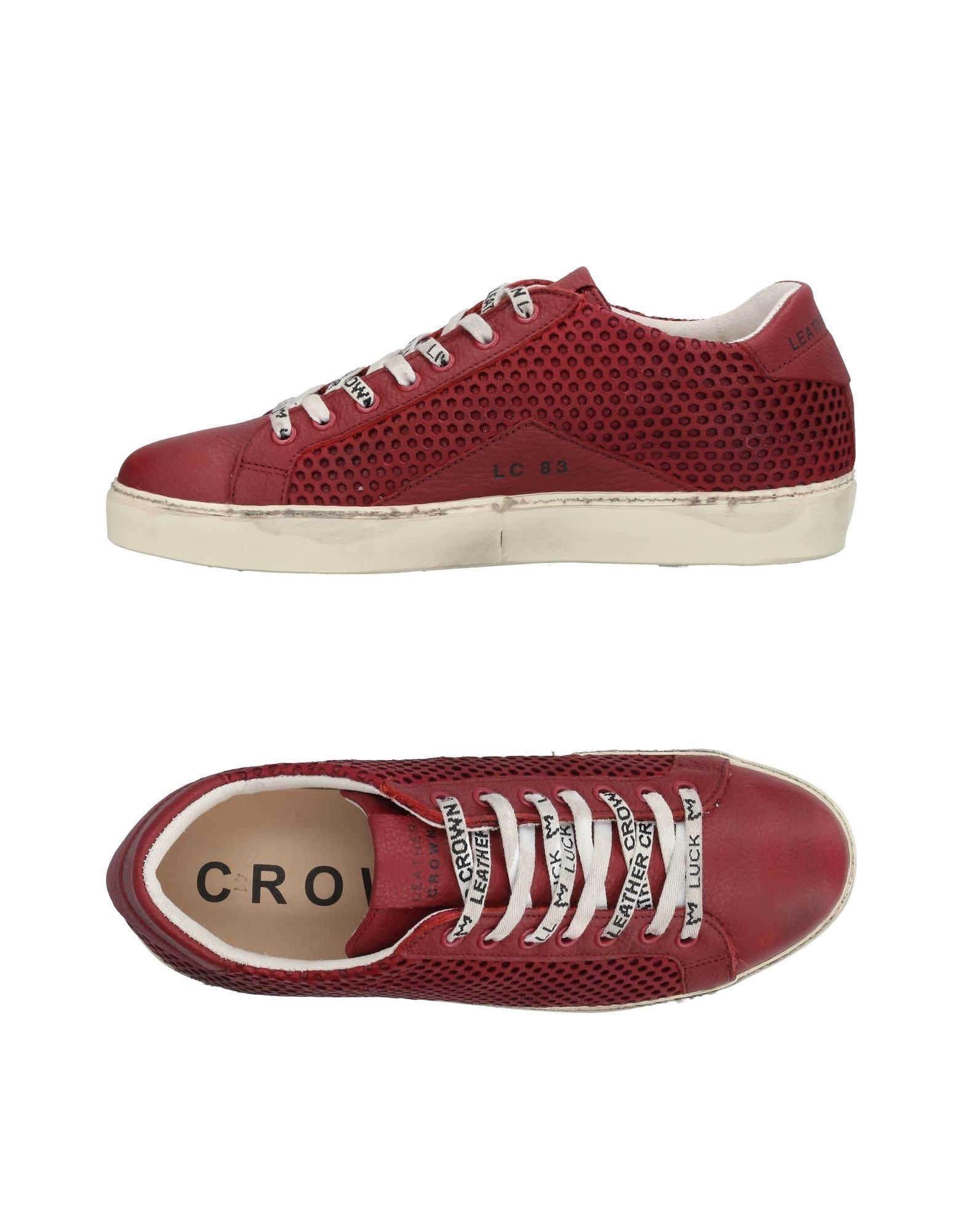 Leather Crown Sneakers Herren  11453721IG