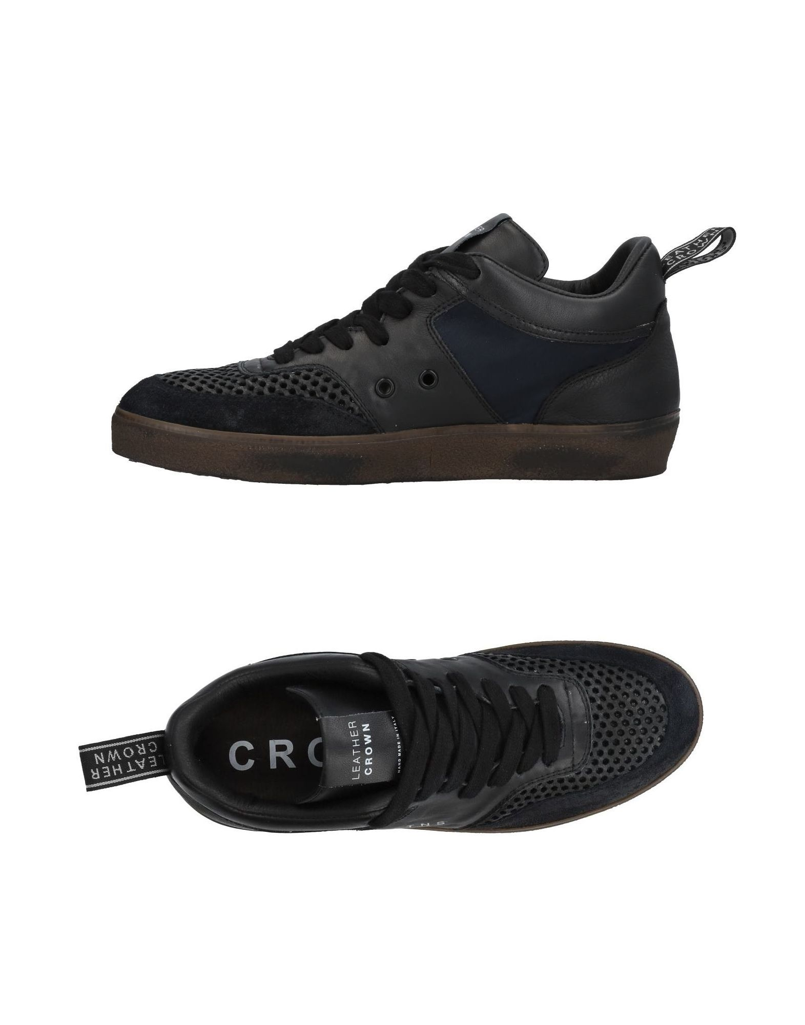 Leather on Crown Sneakers - Men Leather Crown Sneakers online on Leather  Canada - 11453728KW 37a91b