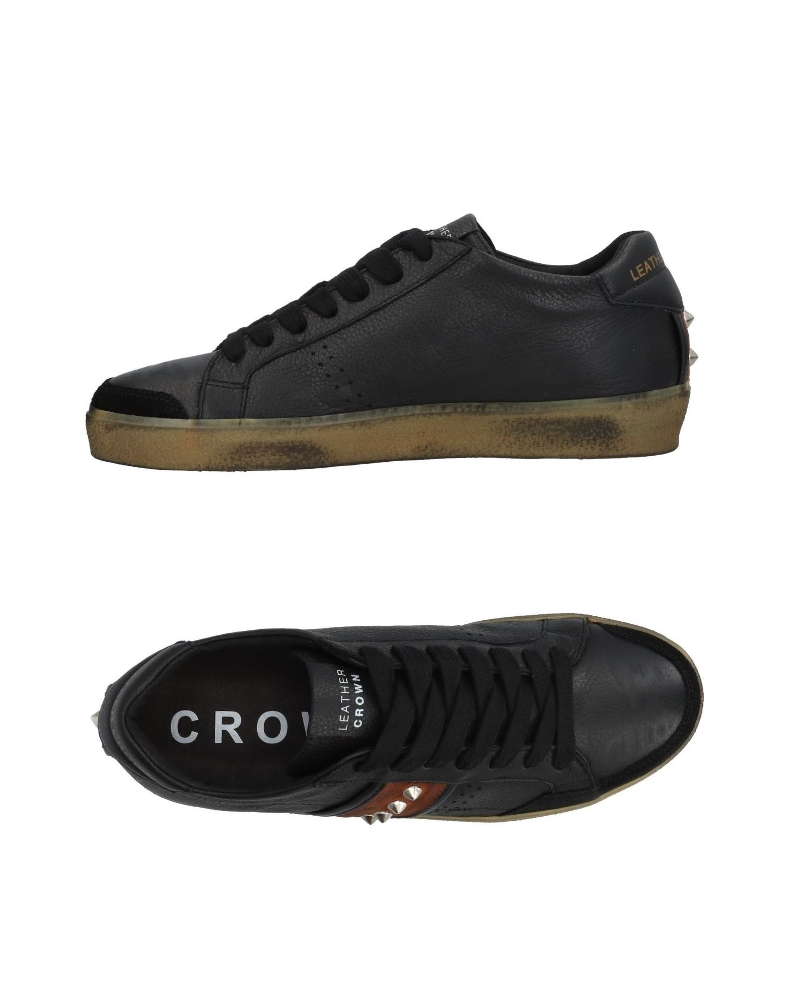 Sneakers Leather Crown Uomo - 11453736CP