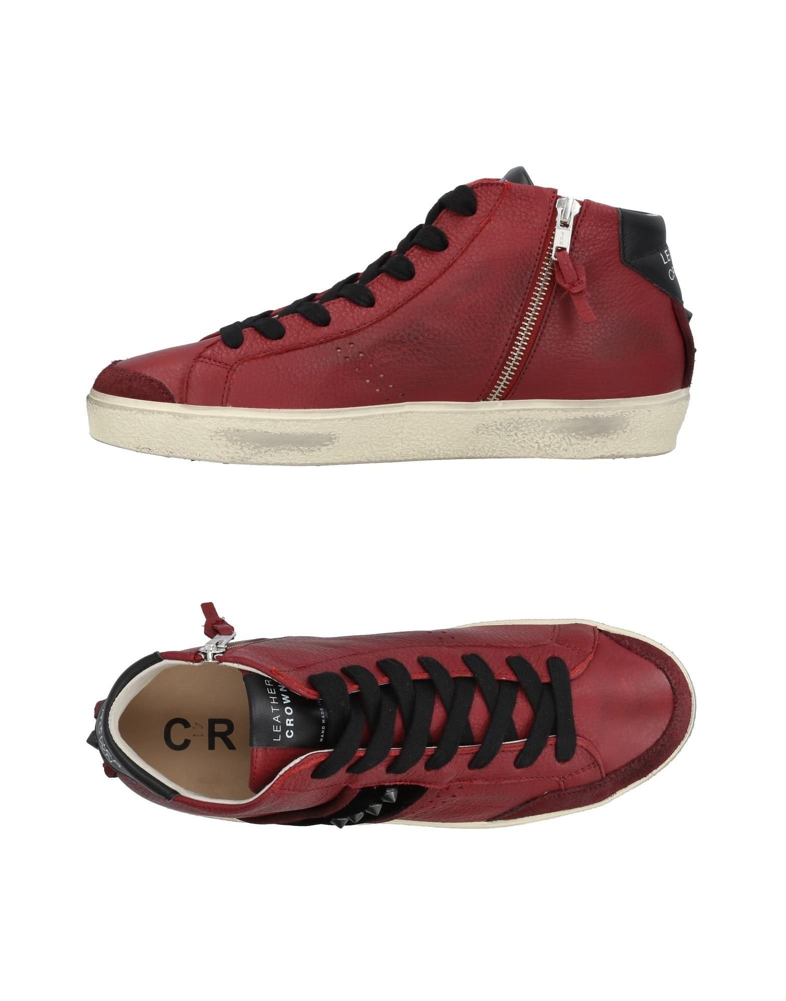 Leather Leather Leather Crown Sneakers Herren  11453754ID ab7df8