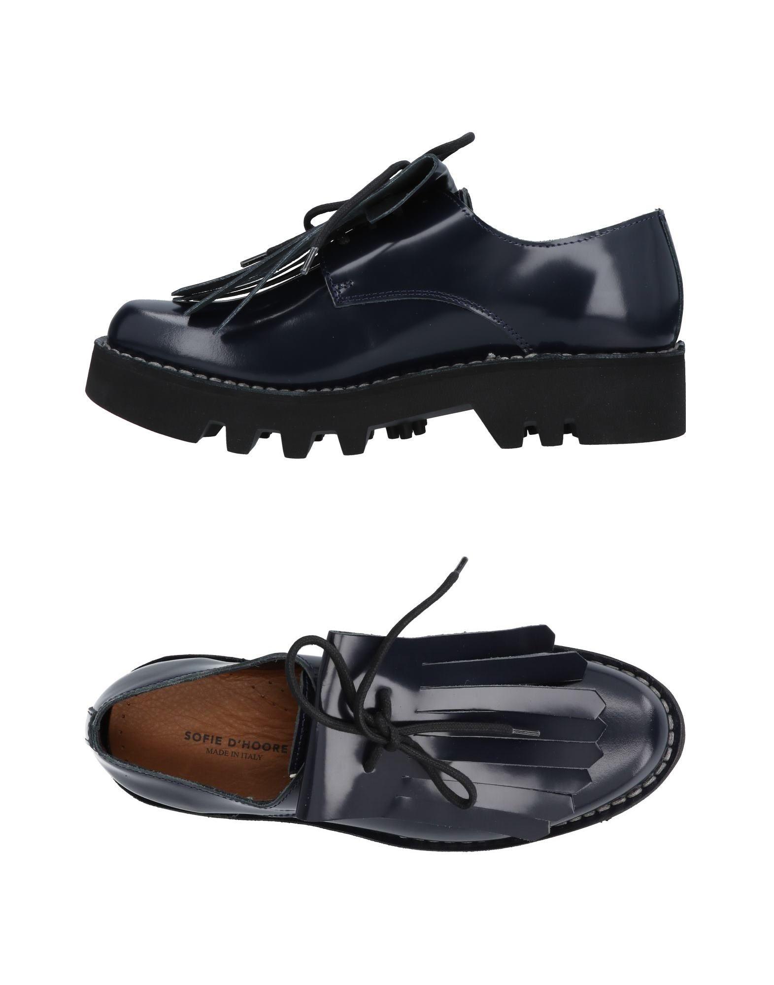 Rabatt Schuhe Sofie D'hoore Schnürschuhe Damen  11453766TA
