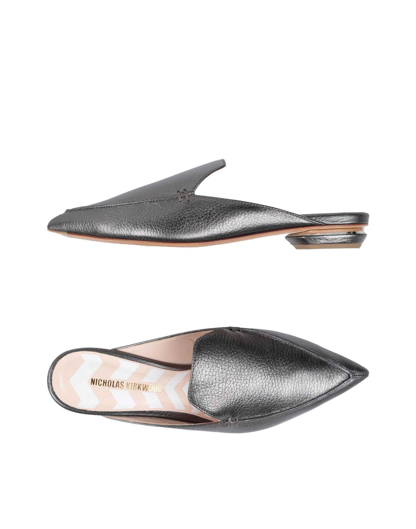 Rabatt Schuhe Nicholas Kirkwood Pantoletten Damen  11453872NM