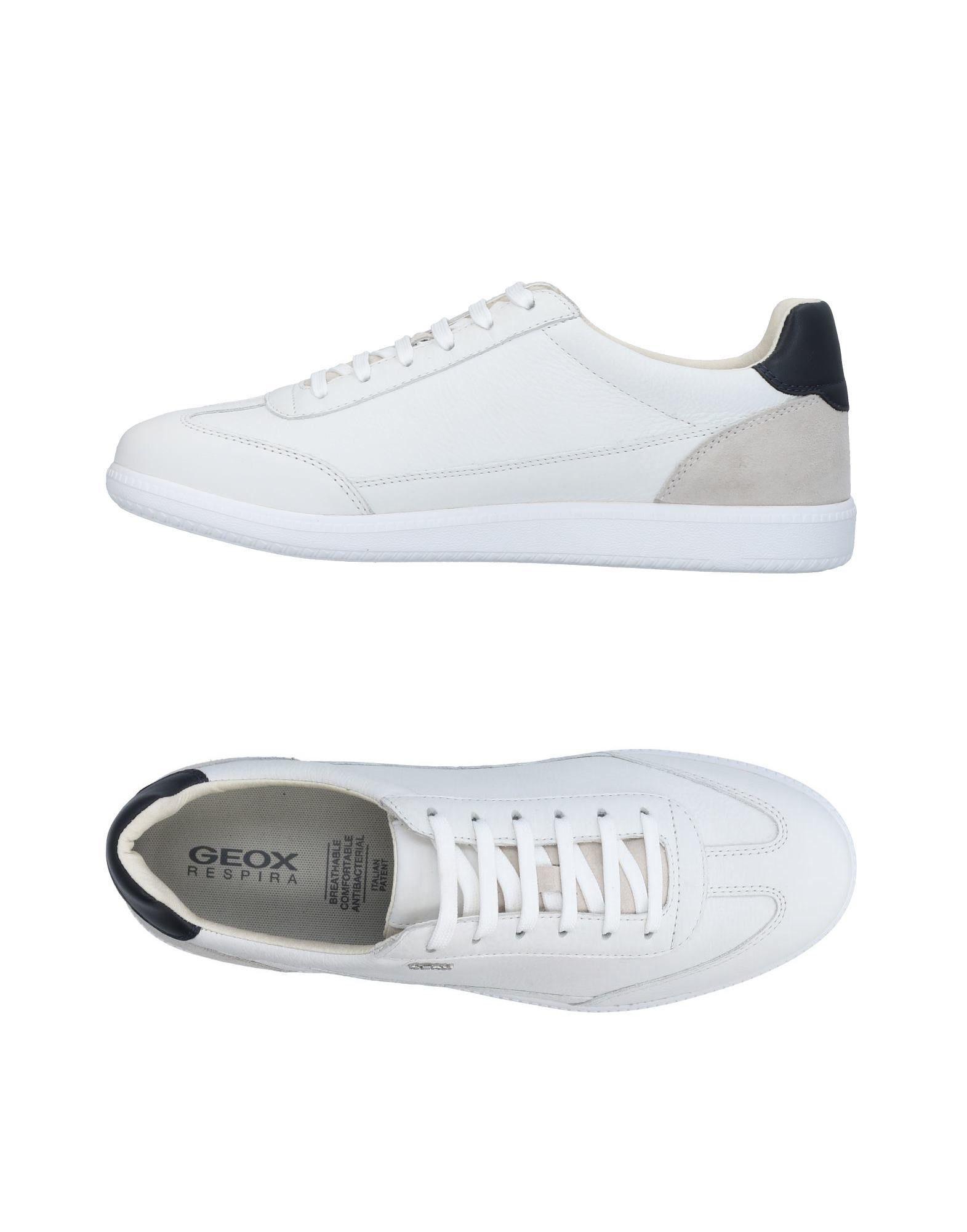 Sneakers Geox Homme - Sneakers Geox  Blanc Nouvelles chaussures pour hommes et femmes, remise limitée dans le temps