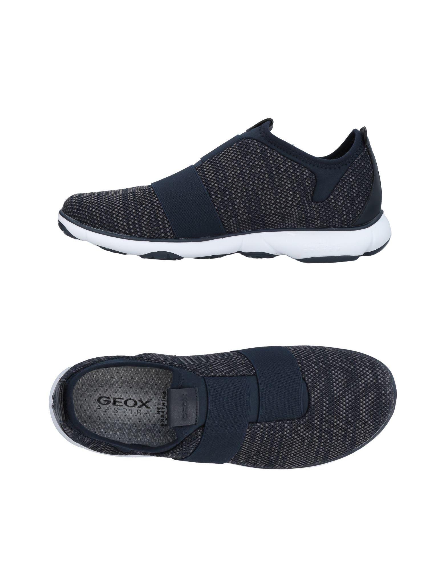 Sneakers Geox Homme - Sneakers Geox  Bleu foncé Nouvelles chaussures pour hommes et femmes, remise limitée dans le temps
