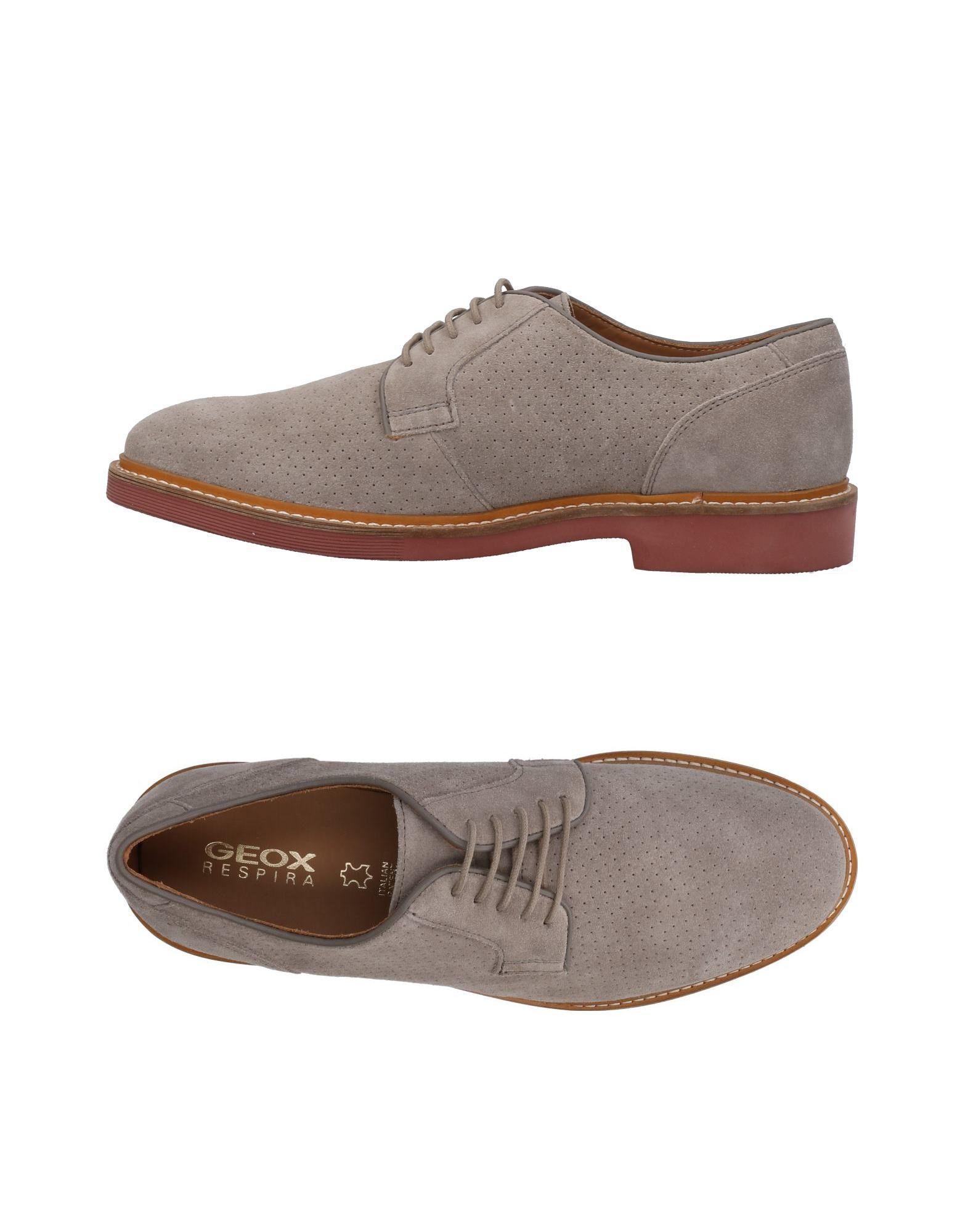Rabatt echte Schuhe Geox Schnürschuhe Herren  11454099WG
