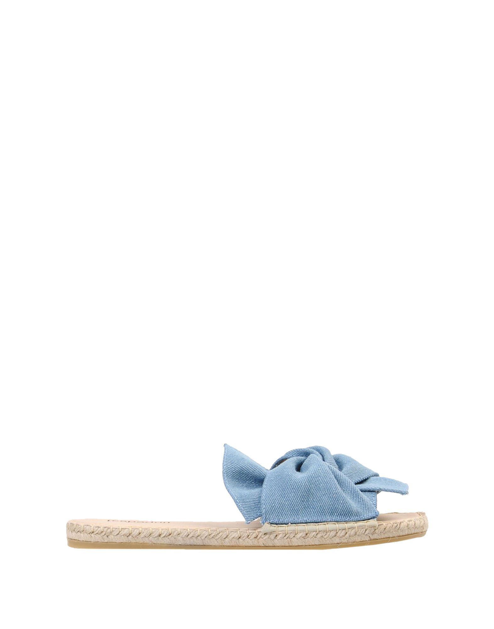 Sandales [Espadrij] Plage Boucle Denim - Femme - Sandales [Espadrij] sur