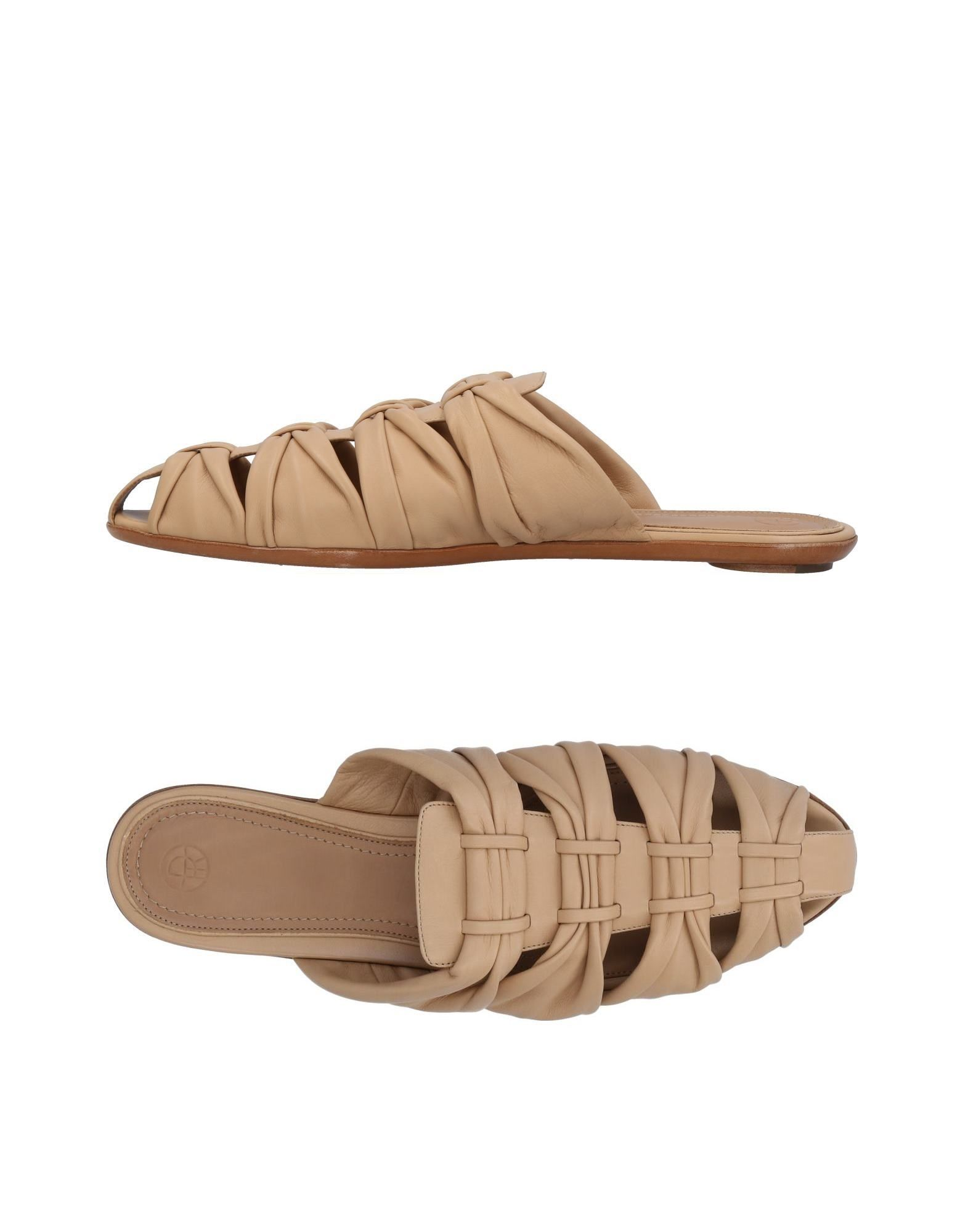 The Row Pantoletten aussehende Damen  11454159UJGünstige gut aussehende Pantoletten Schuhe 8efa09