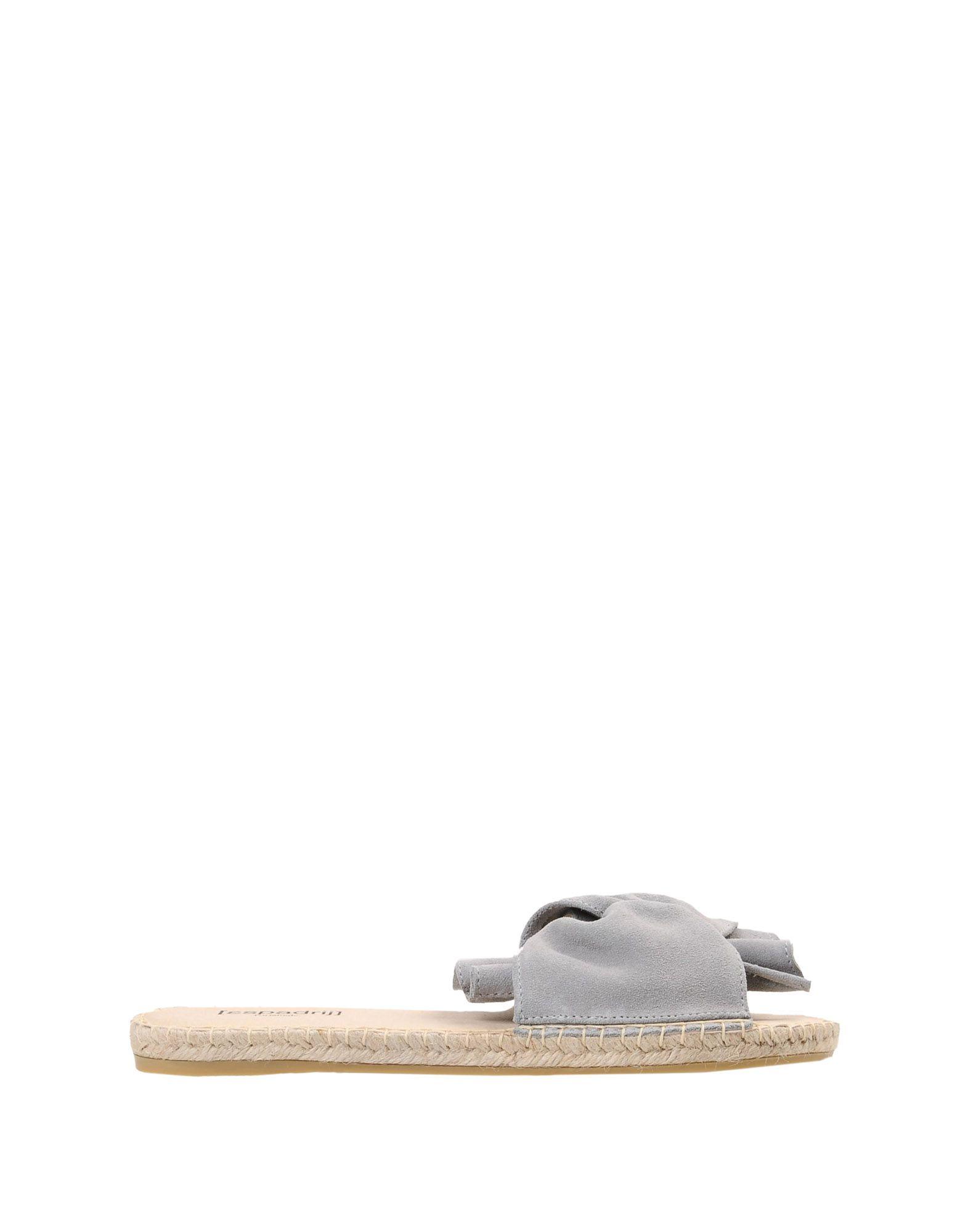 Sandales [Espadrij] Plage Boucle Velour - Femme - Sandales [Espadrij] sur
