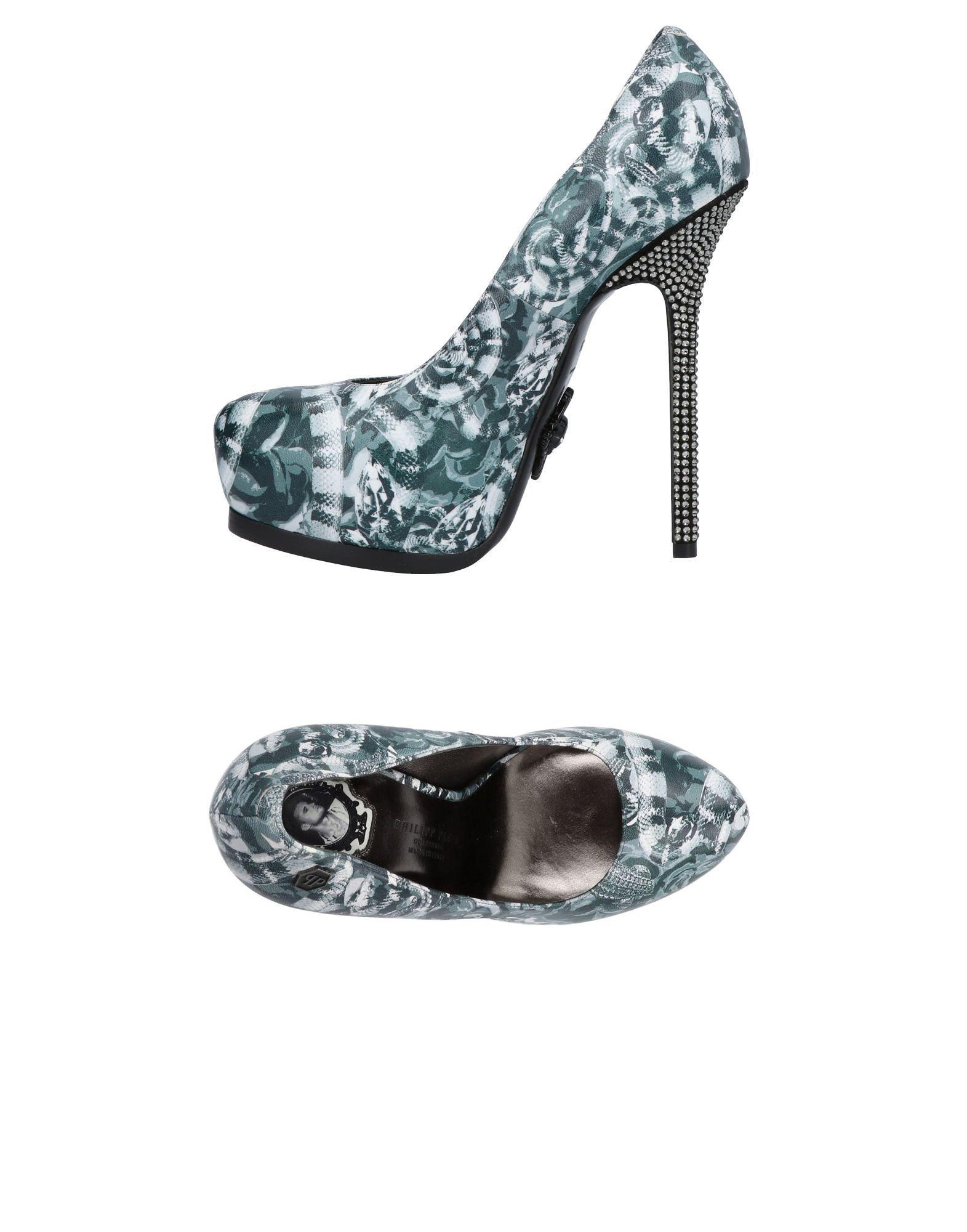Philipp Plein Pumps aussehende Damen  11454374XRGünstige gut aussehende Pumps Schuhe 4ecb16