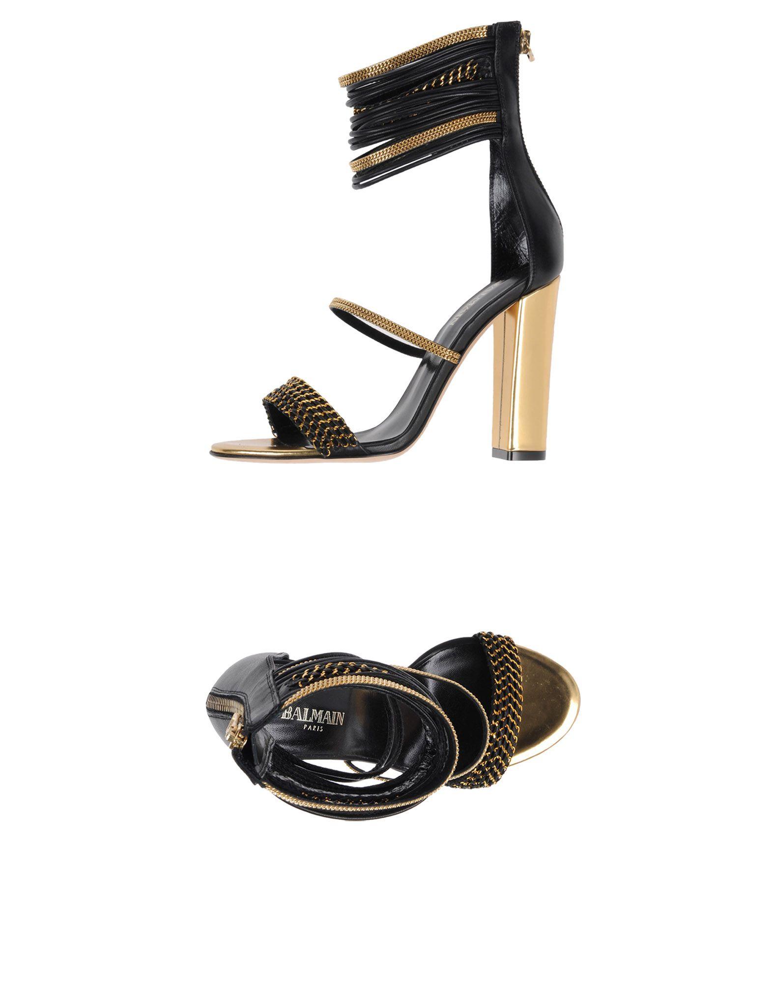 Balmain Sandalen aussehende Damen  11454380FJGünstige gut aussehende Sandalen Schuhe 7cb4fc
