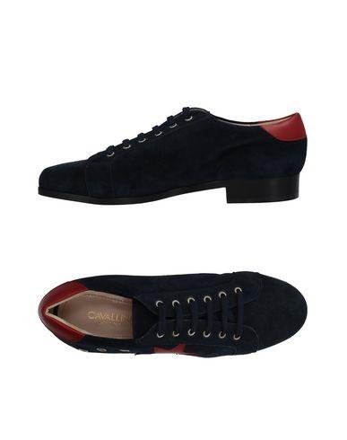 Descuento por tiempo limitado Zapato De Cordones Cavallini Mujer - Zapatos De Cordones Cavallini - 11454393TT Azul oscuro