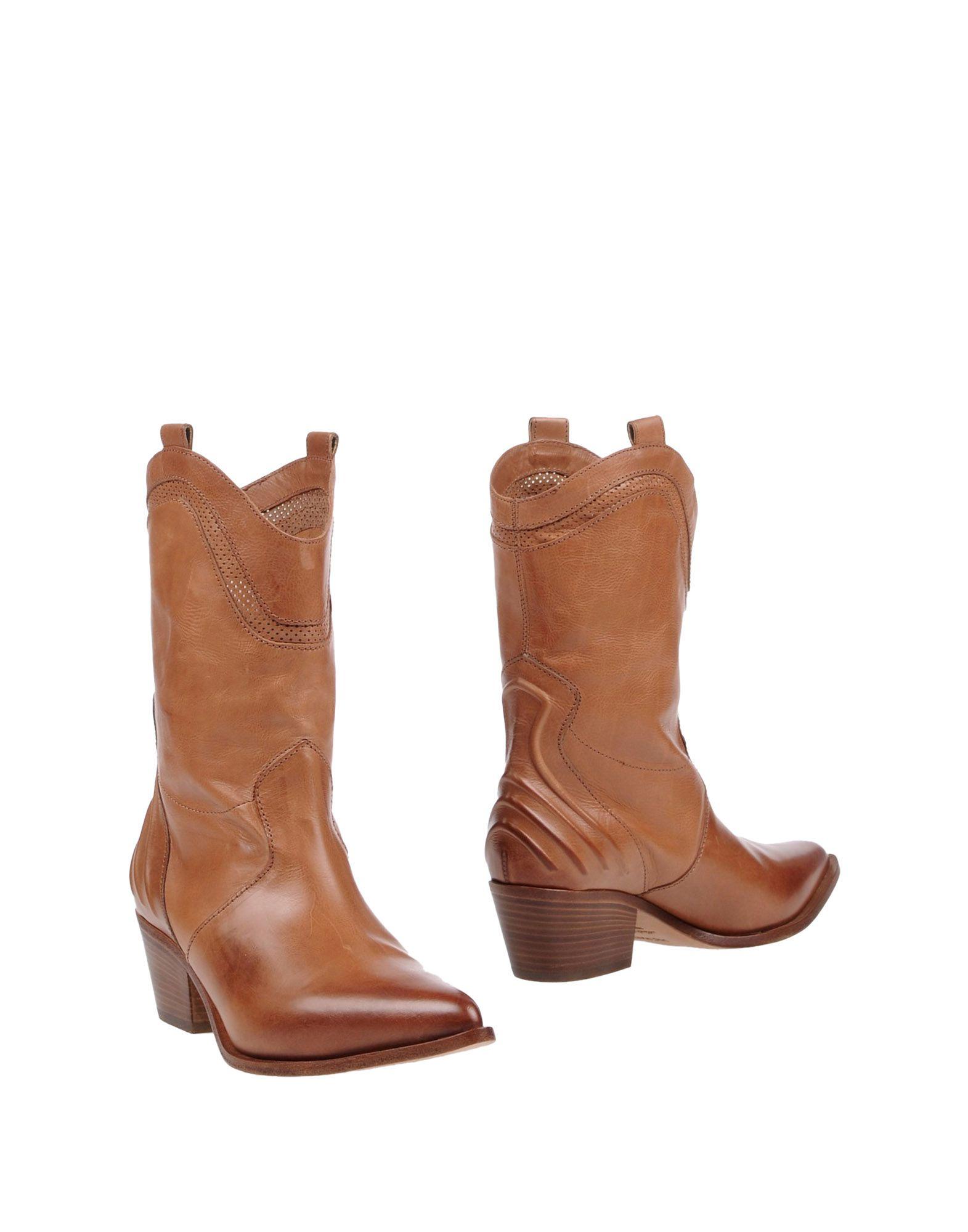 Bottine Vic Matiē Femme - Bottines Vic Matiē Camel Dernières chaussures discount pour hommes et femmes