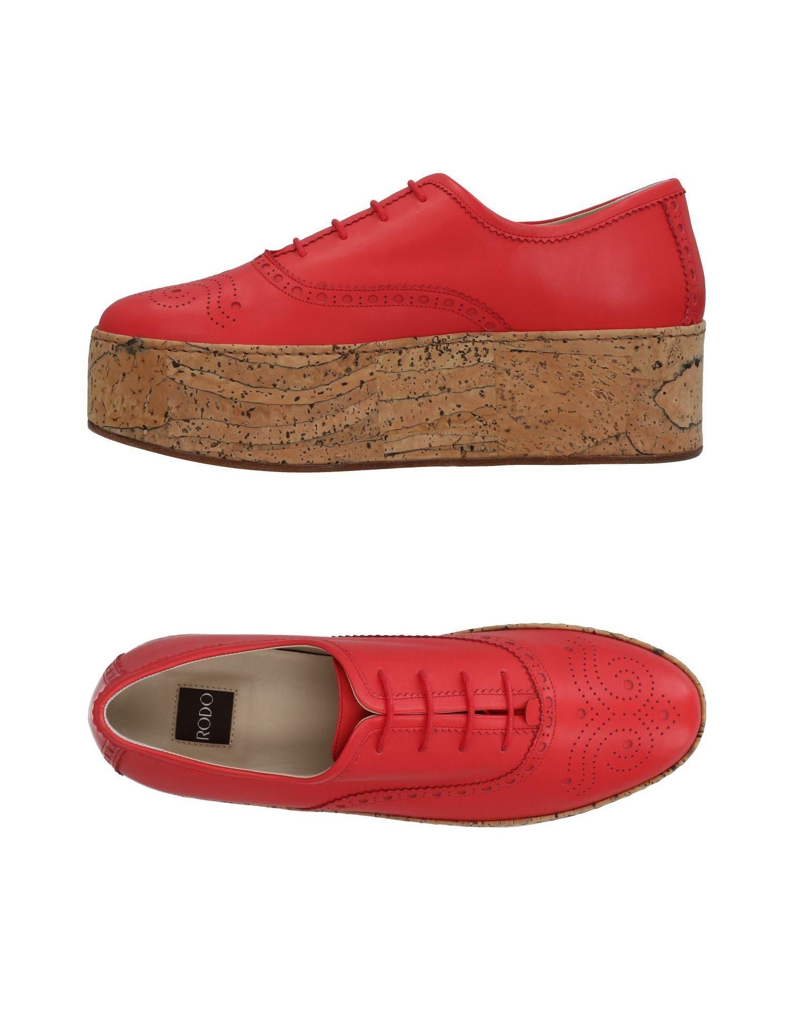 Rabatt Schuhe Rodo Schnürschuhe Damen  11454605IS