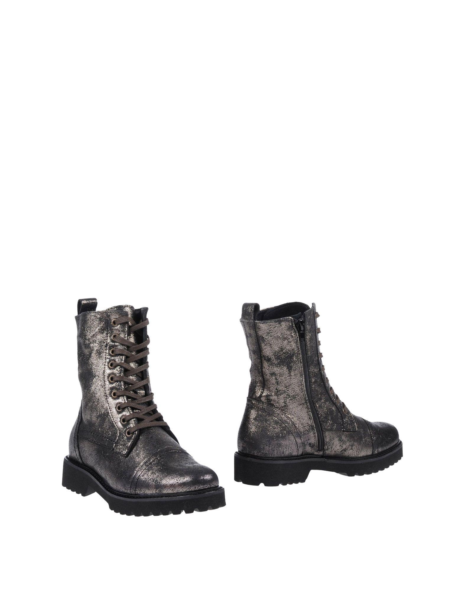 Bottine Le Gatte Femme - Bottines Le Gatte Noir Chaussures casual sauvages