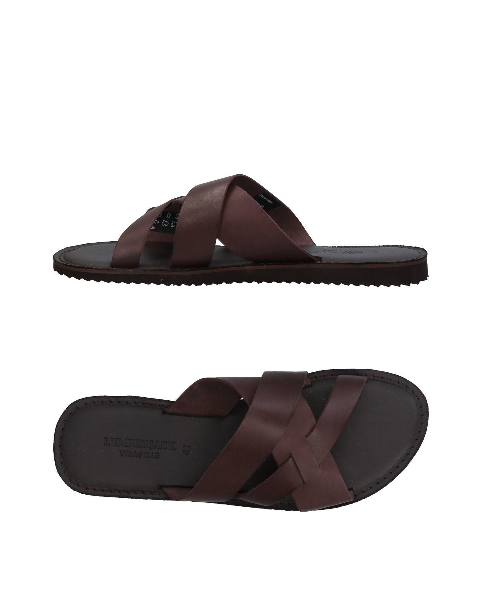 Rabatt echte Schuhe Lumberjack Sandalen Herren  11454812NW