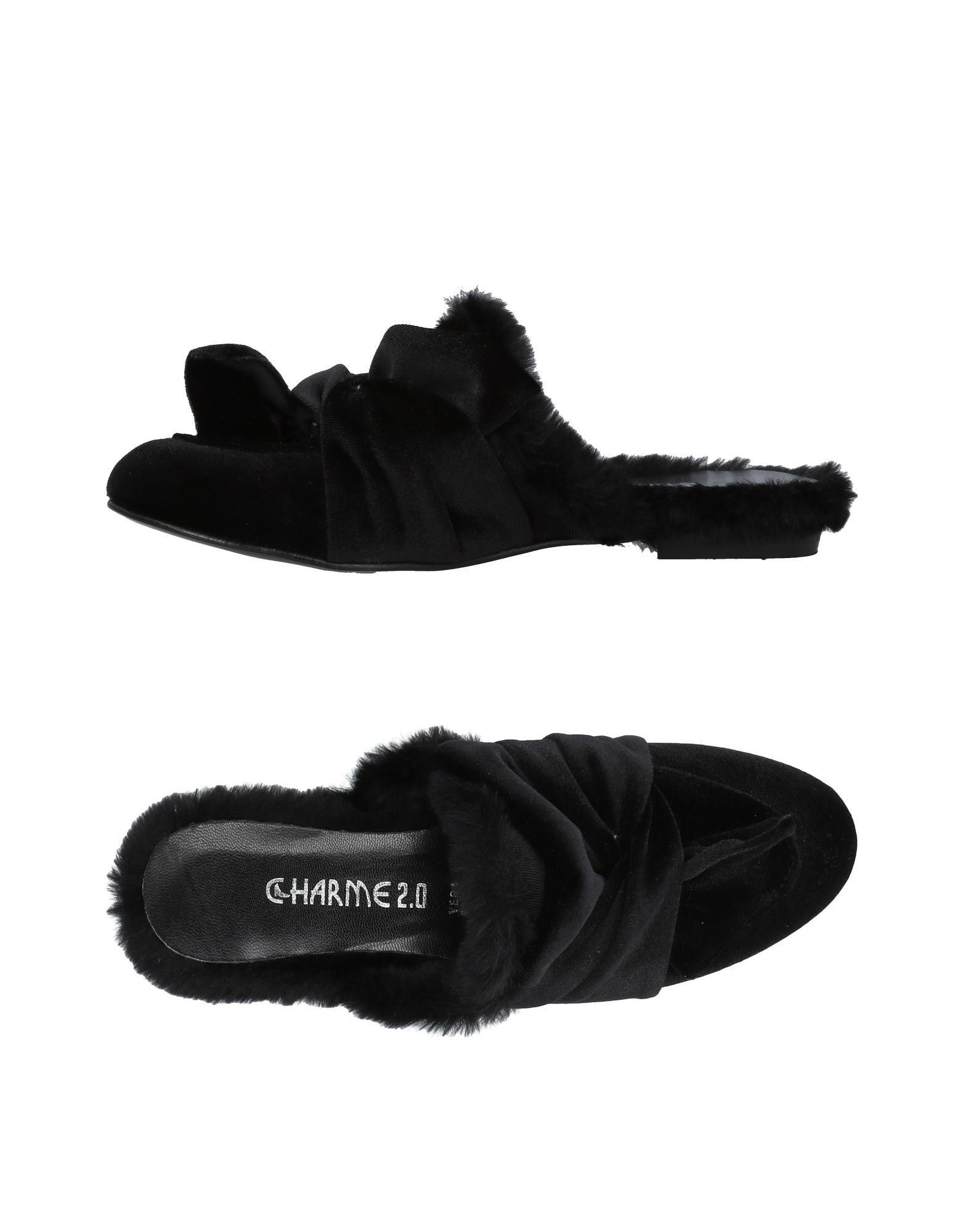 Charme Pantoletten Damen  11454819OQ Gute Qualität beliebte Schuhe