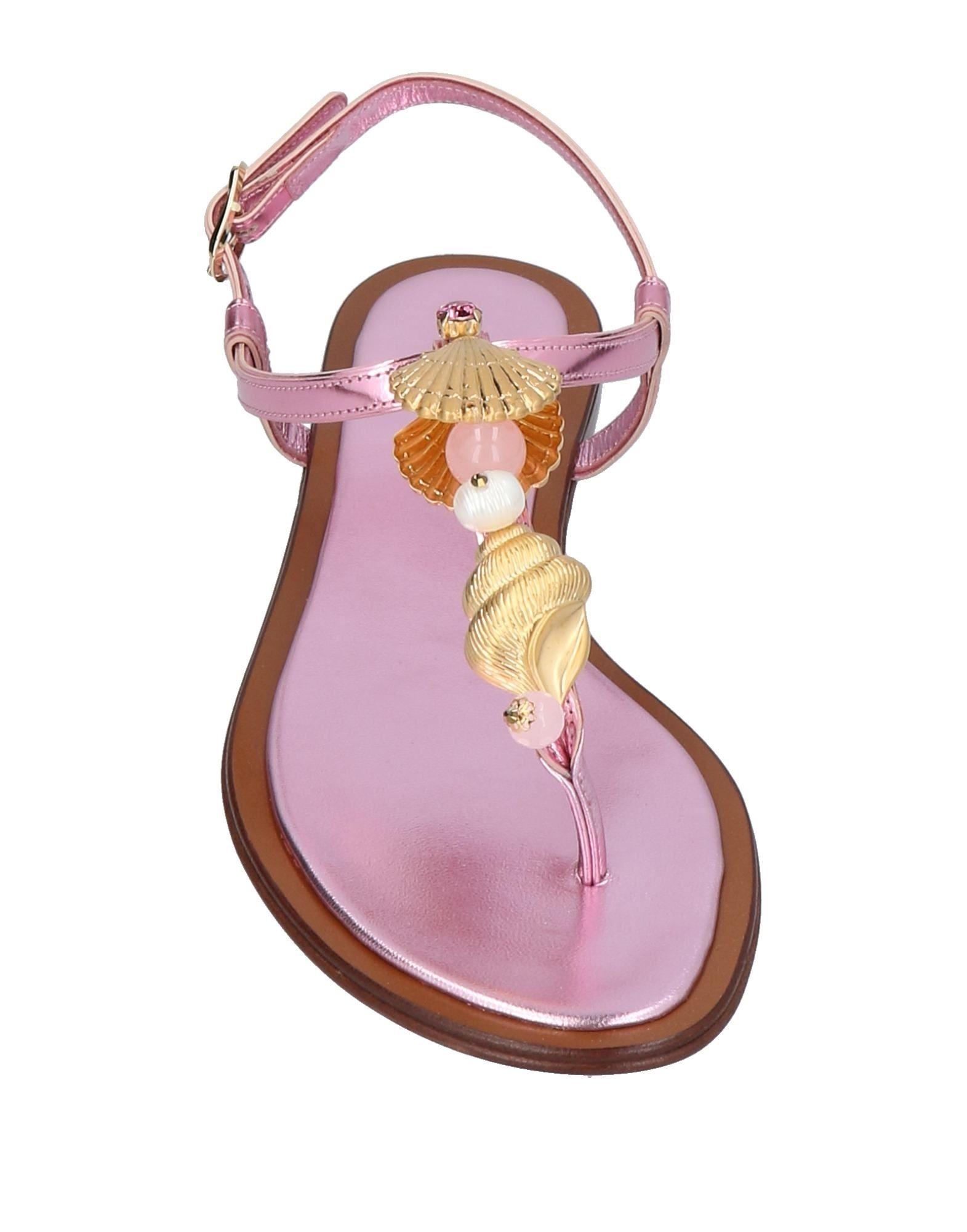 Dolce & Gabbana Dianetten aussehende Damen  11454888DDGünstige gut aussehende Dianetten Schuhe cdd657