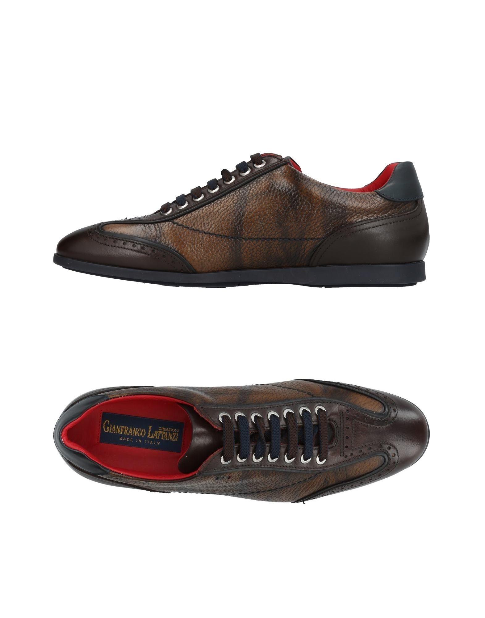 Sneakers Gianfranco Lattanzi Homme - Sneakers Gianfranco Lattanzi  Moka Mode pas cher et belle