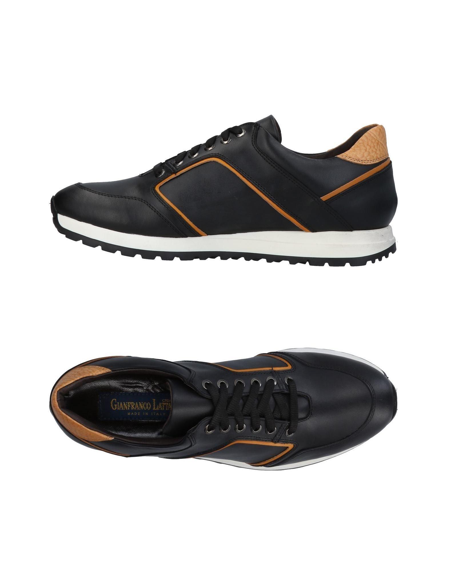 Sneakers Gianfranco Lattanzi Homme - Sneakers Gianfranco Lattanzi  Noir Dédouanement saisonnier
