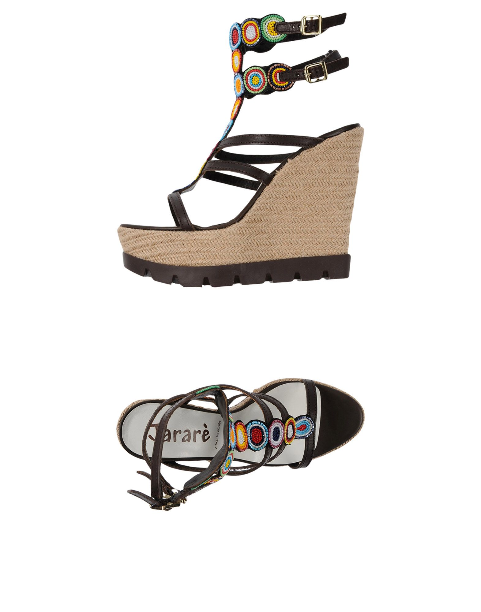 Stilvolle billige Schuhe Jararè Sandalen Damen  11455319XT