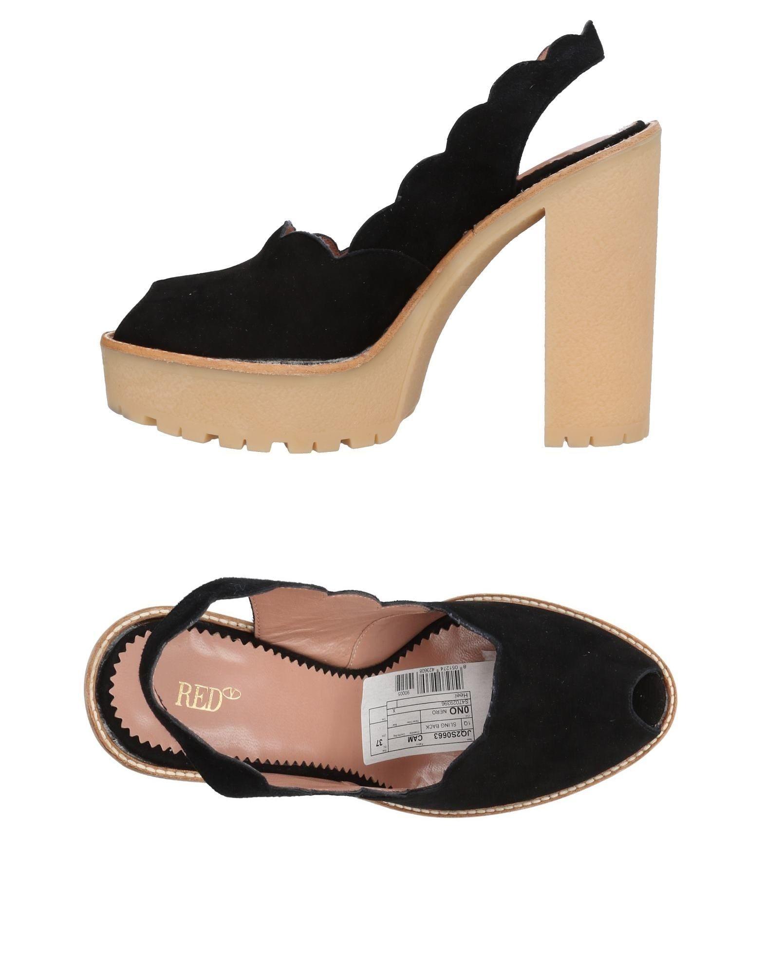 Haltbare Mode billige Schuhe Red(V) Sandalen Damen  11455348HP Heiße Schuhe