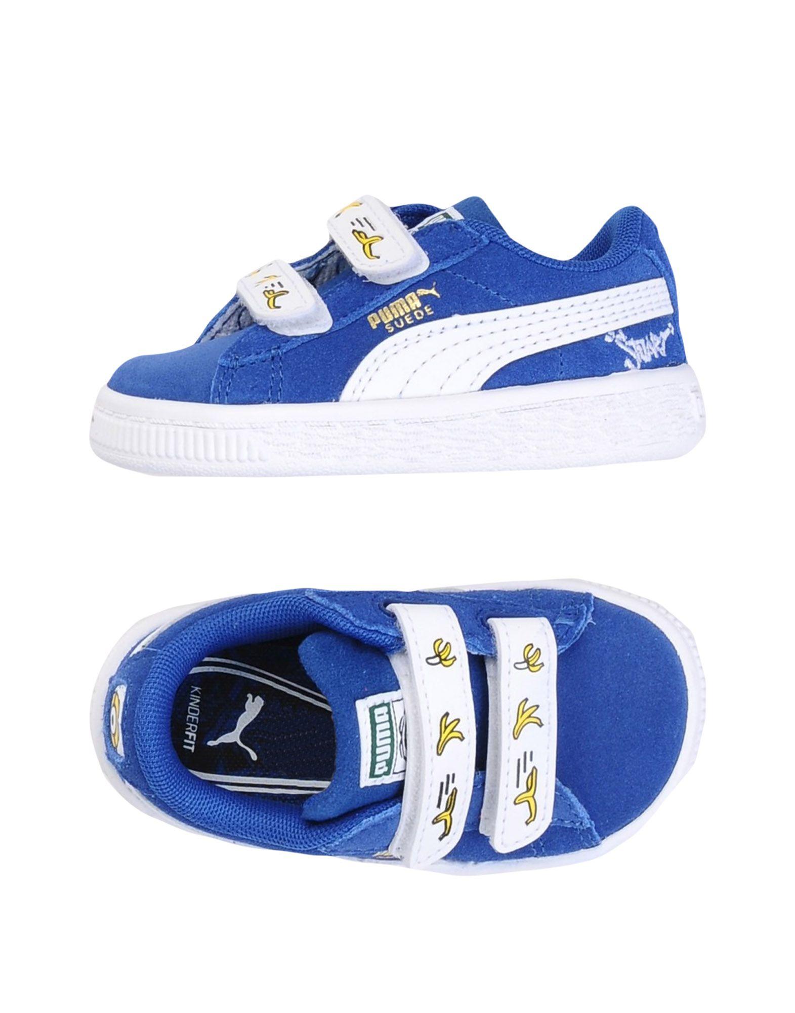 Sneakers bicolore con chiusura velcro per bambina Puma fmMSR