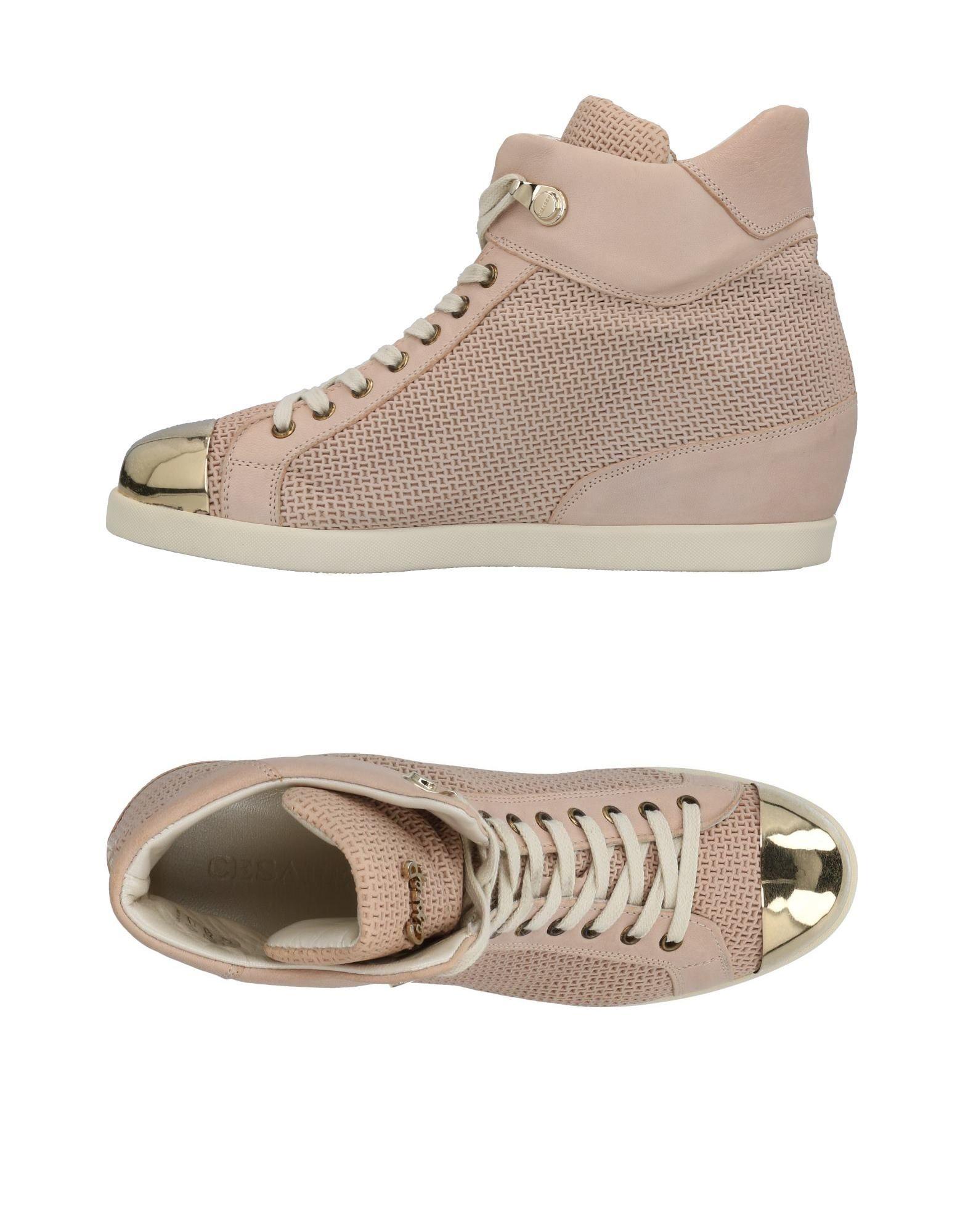 Baskets Cesare P. Femme - Baskets Cesare P. Rose Dernières chaussures discount pour hommes et femmes