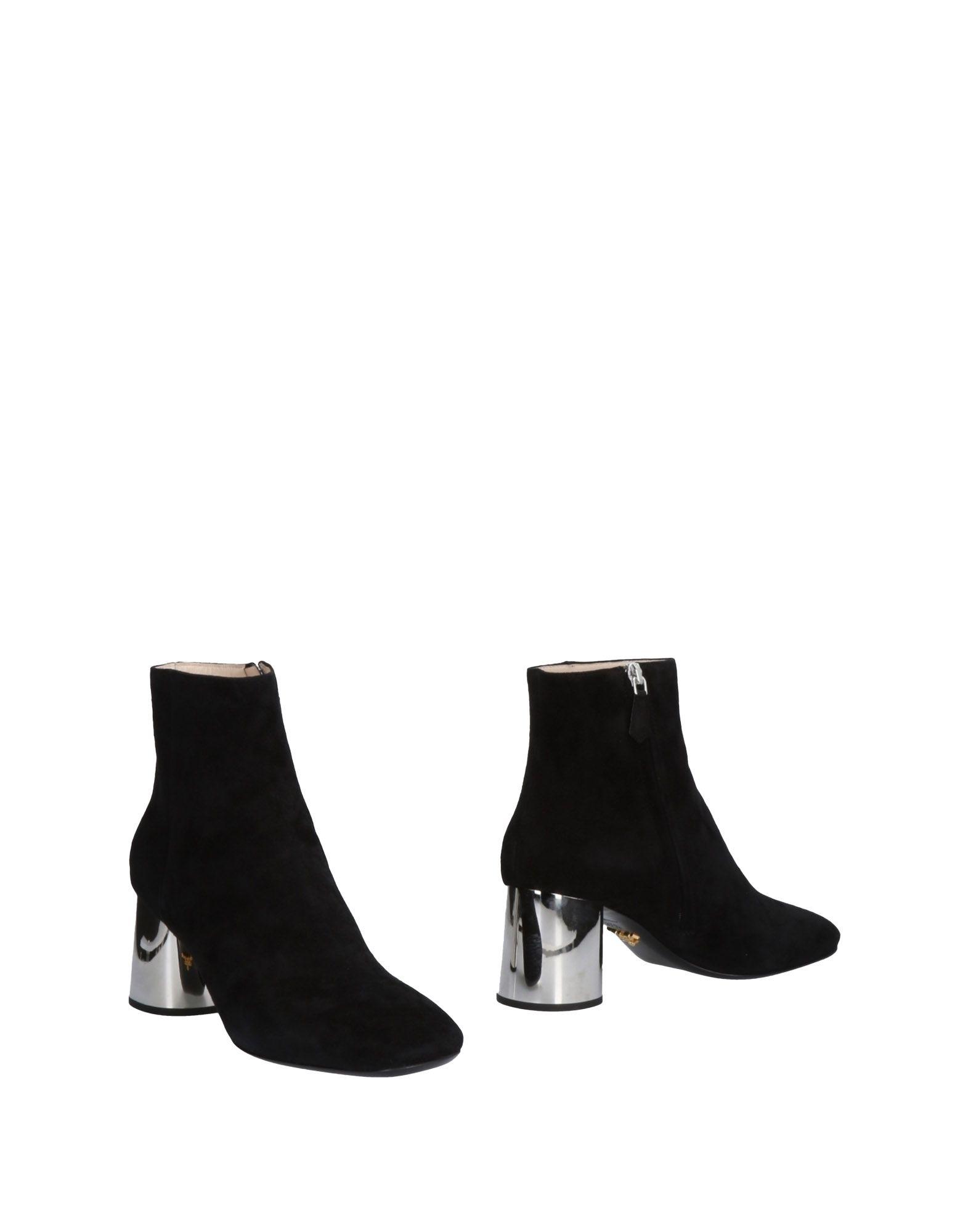 Prada Stiefelette aussehende Damen  11455721VXGünstige gut aussehende Stiefelette Schuhe 393909