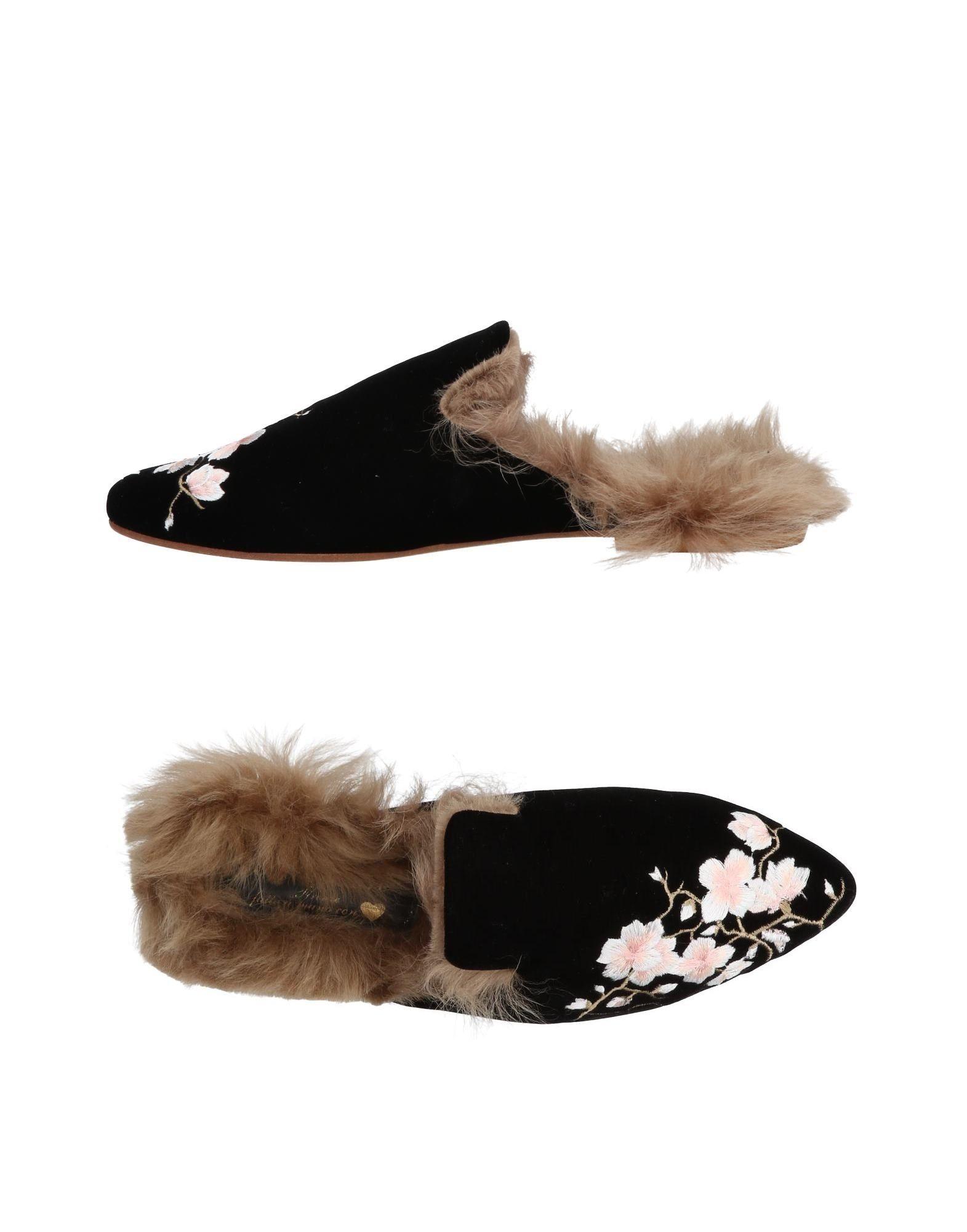 Stilvolle billige Damen Schuhe Gia Couture Pantoletten Damen billige  11455855TK c7b9af