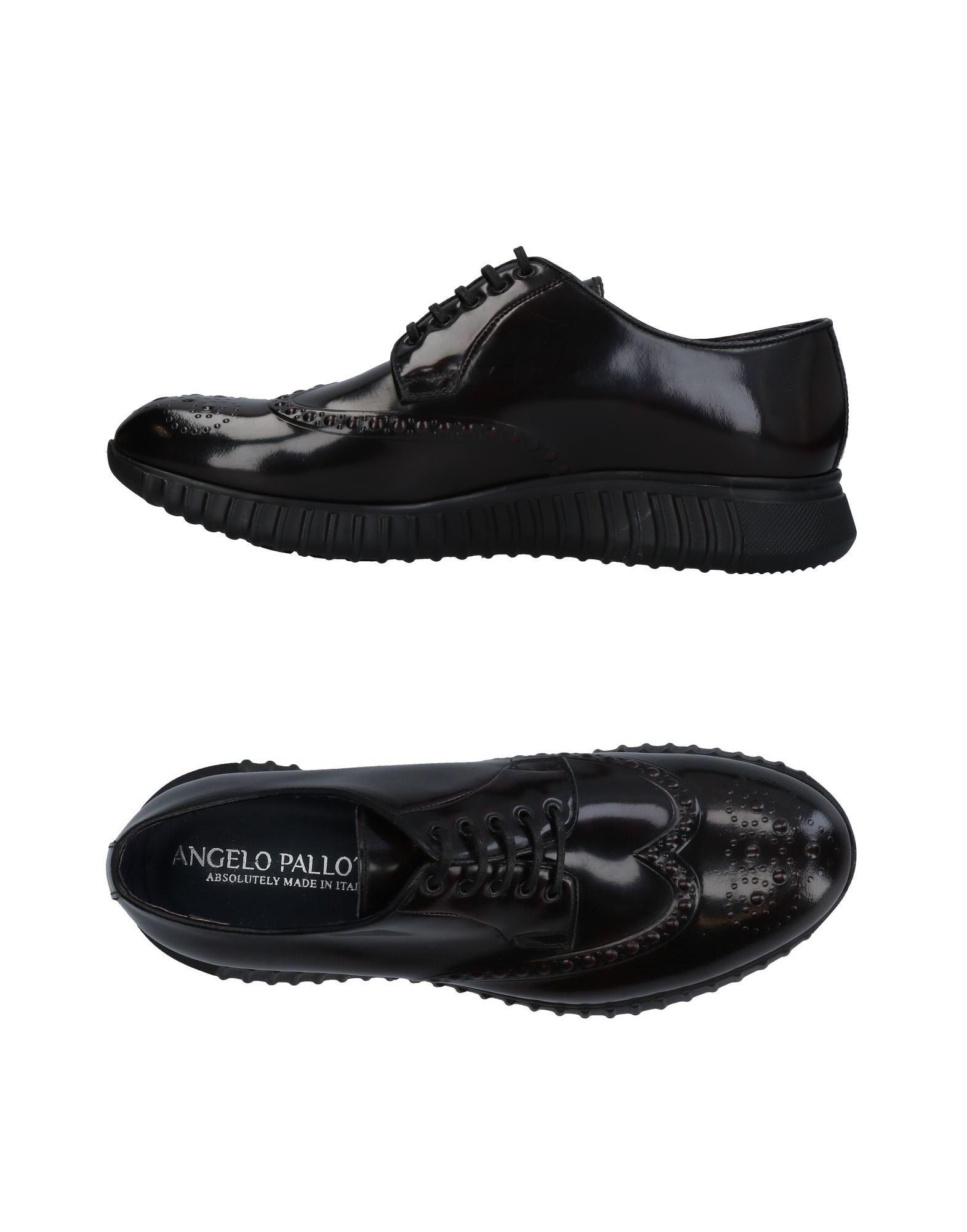 Rabatt echte Schuhe Angelo Pallotta Schnürschuhe Herren  11456176BU