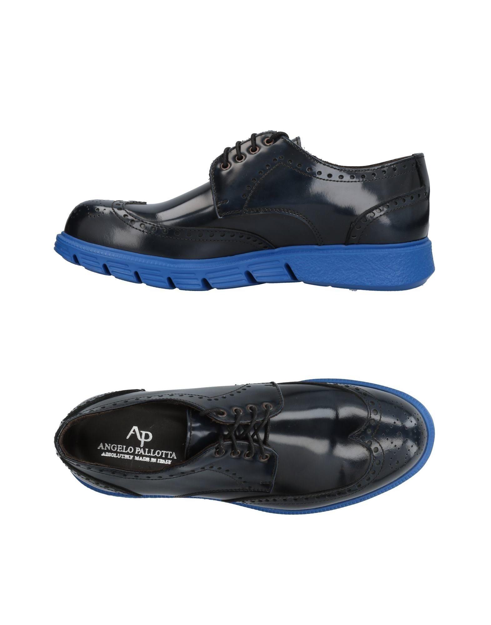 Rabatt echte Schuhe Angelo Pallotta Schnürschuhe Herren  11456252TG