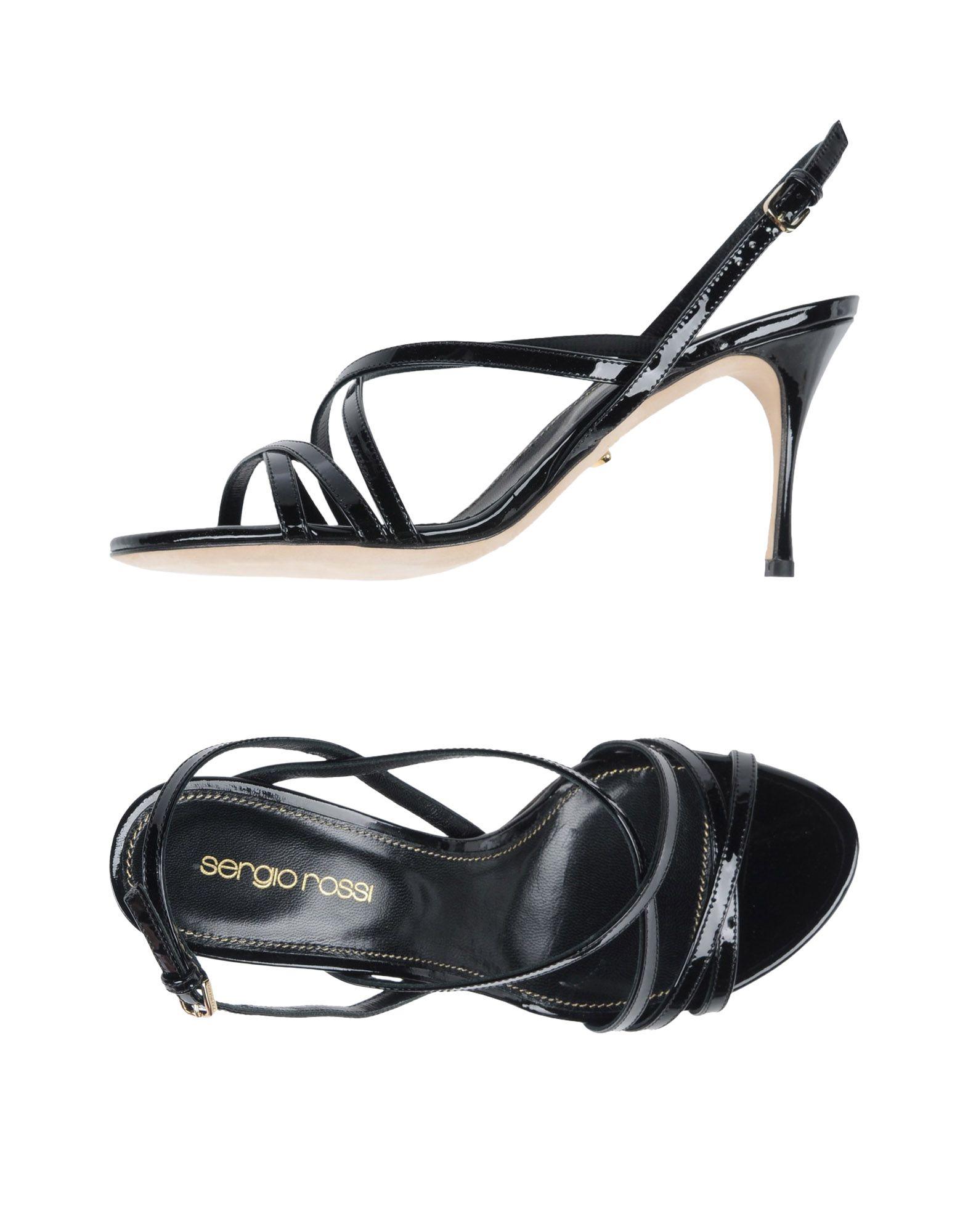 Sergio Rossi Sandalen Damen aussehende  11456257ERGünstige gut aussehende Damen Schuhe 40c471