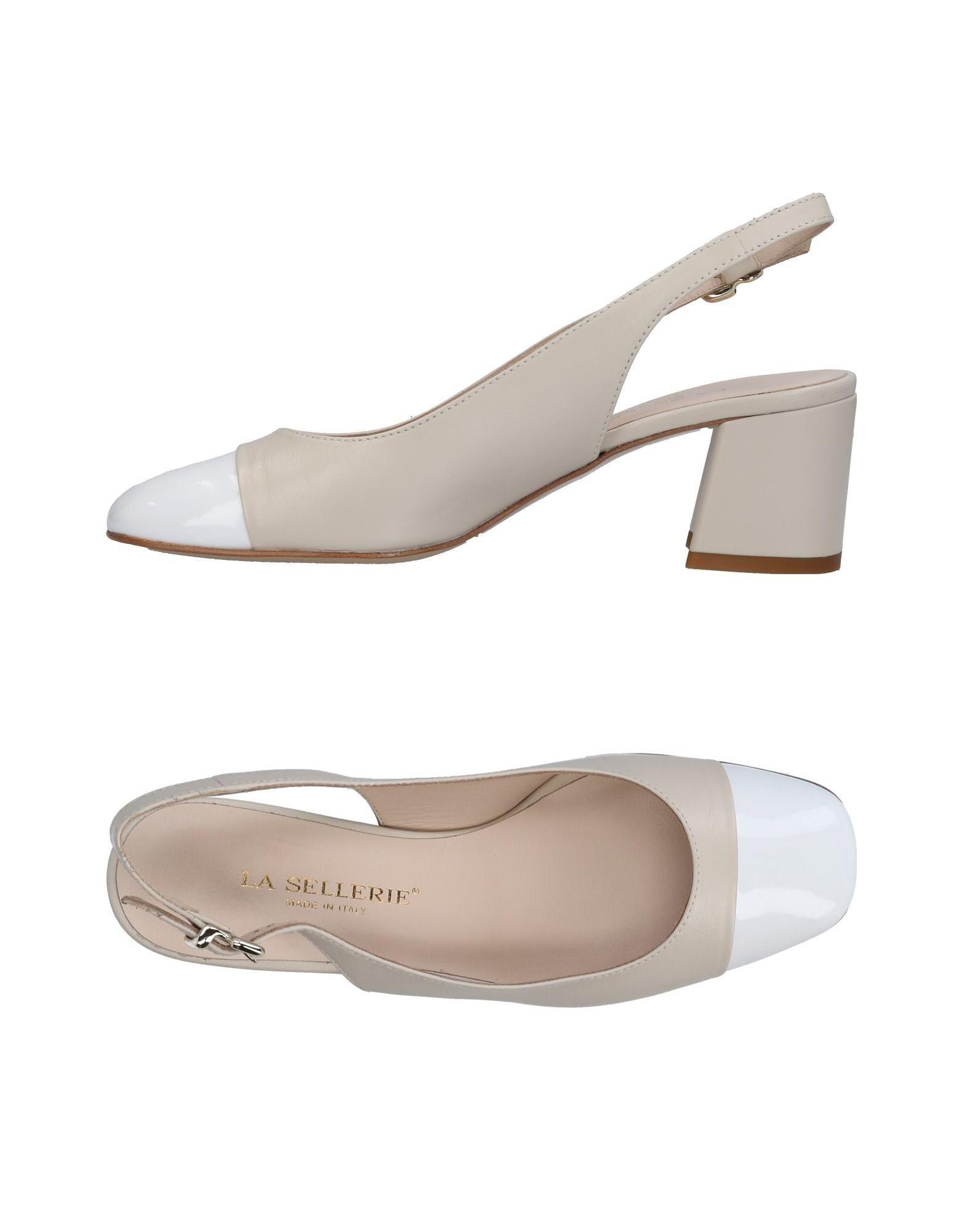 Escarpins La Sellerie Femme - Escarpins La Sellerie Noir Dernières chaussures discount pour hommes et femmes