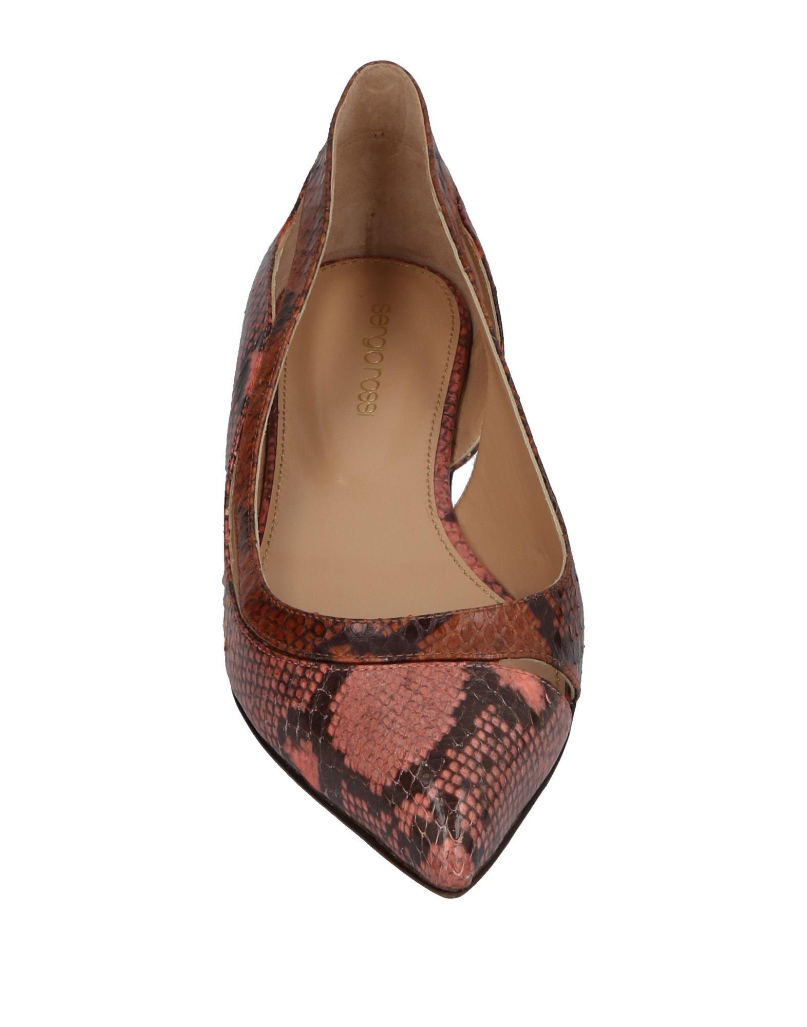 Sergio Rossi Rossi Rossi Ballerinas Damen  11456281TR Beliebte Schuhe 2068a0