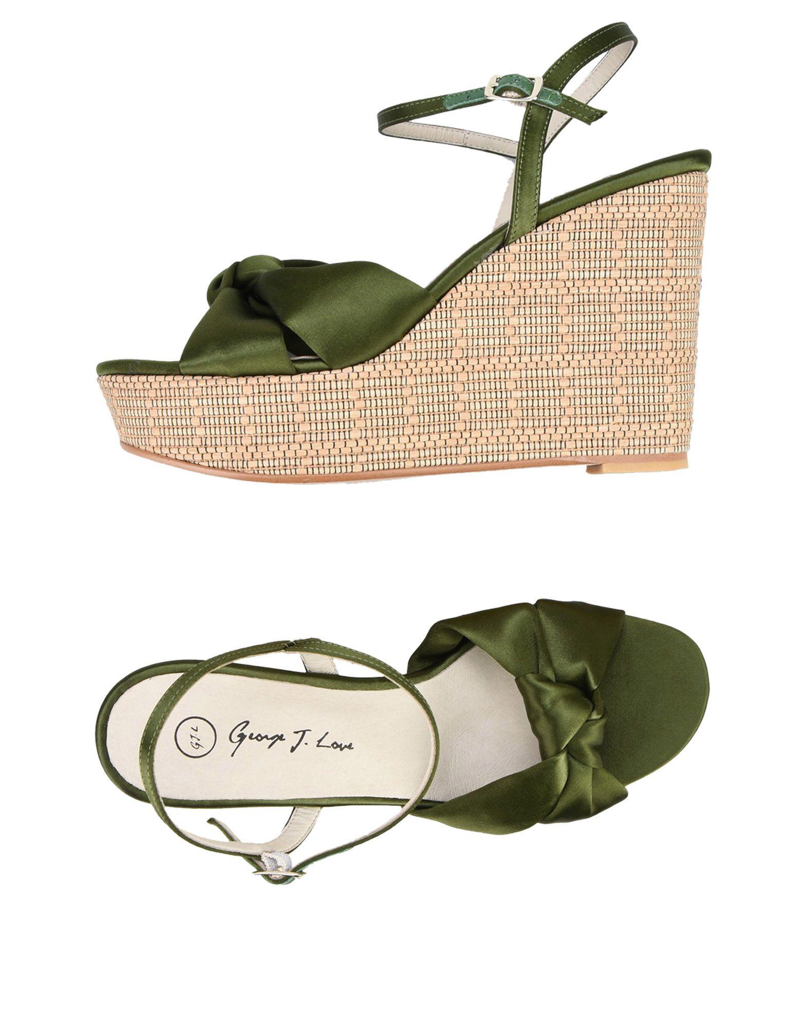 George J. Love Sandalen Damen  11456563OC Gute Qualität beliebte Schuhe