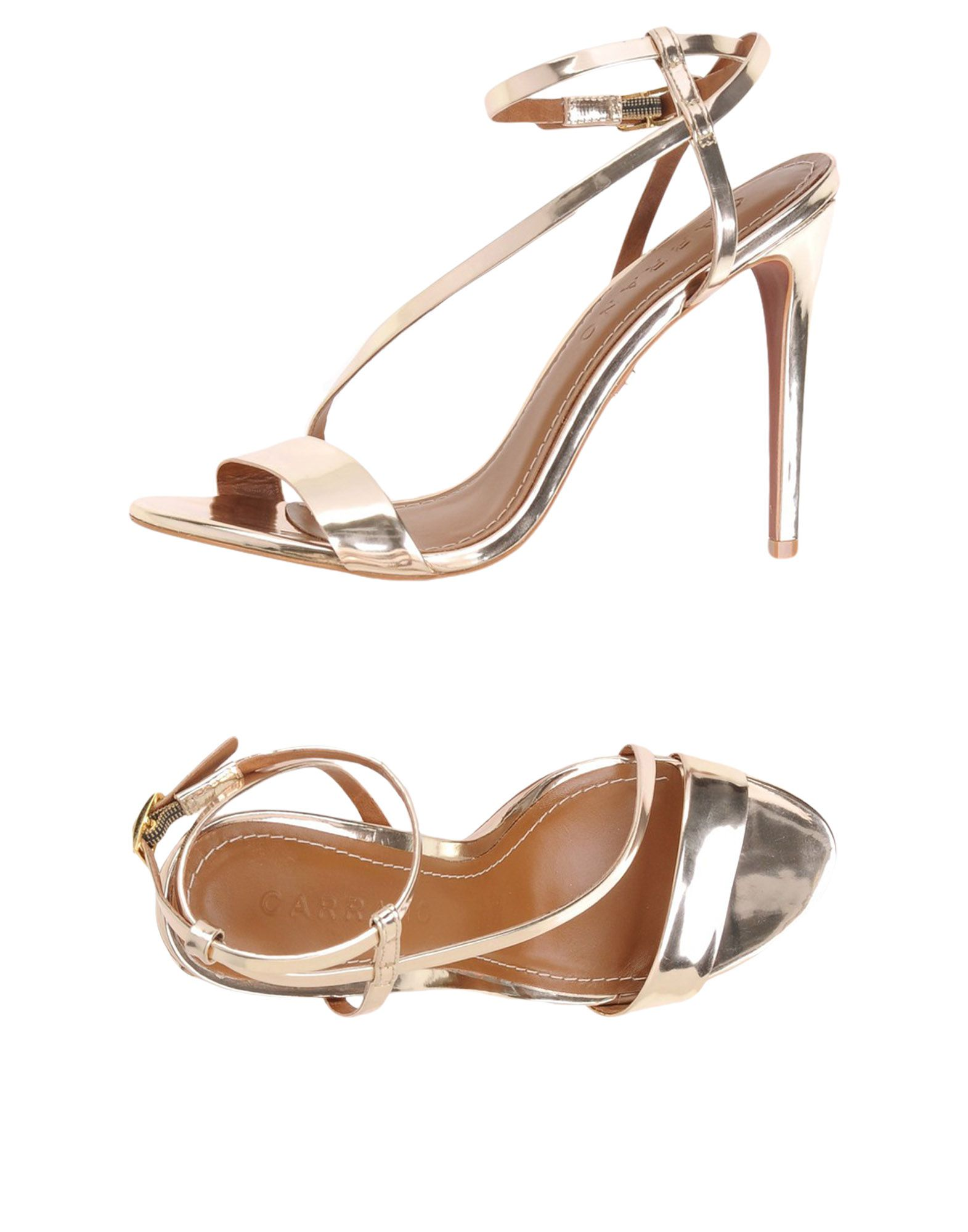 4b125fe5989 Carrano Carrano Carrano Slippers - Sandals - Women Carrano Sandals online  on United Kingdom - 11456708NQ 1921cd