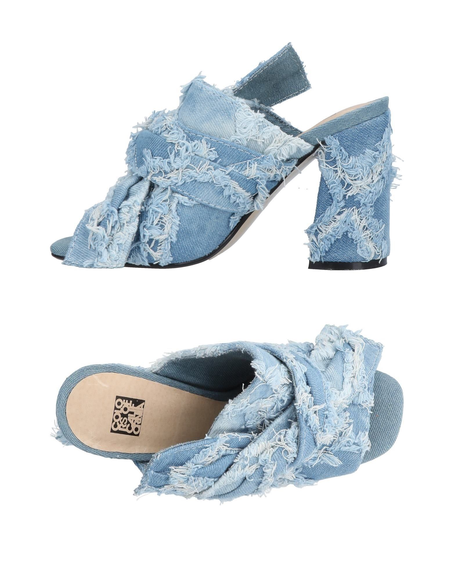 Colors Of California Sandalen Damen  beliebte 11456817WL Gute Qualität beliebte  Schuhe 5f040f