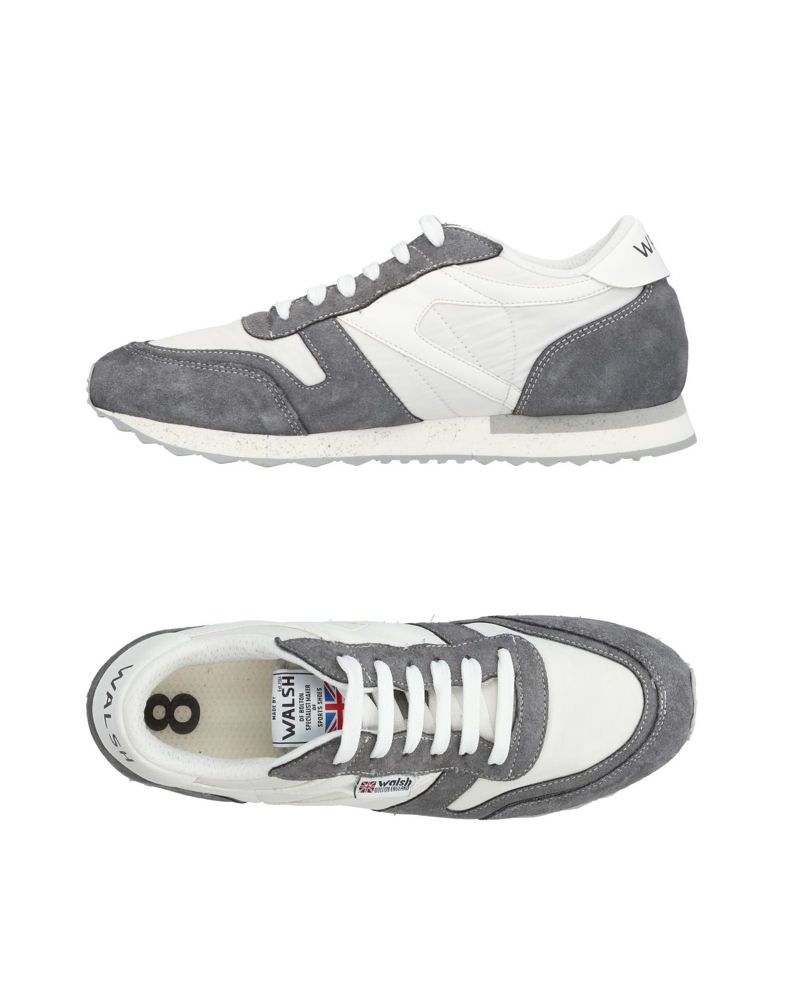 Sneakers Walsh Homme - Sneakers Walsh  Gris Mode pas cher et belle