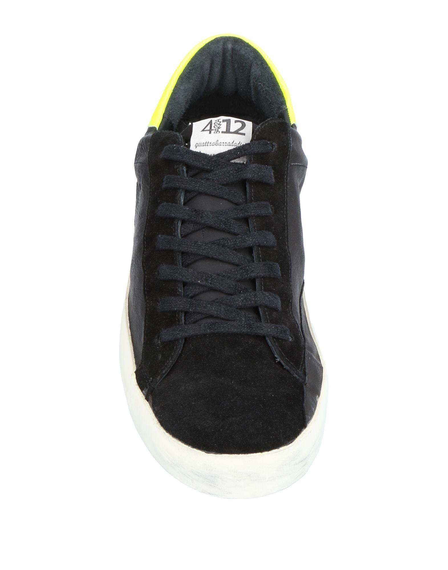 Rabatt echte Schuhe Quattrobarradodici Sneakers Herren  11457085GW
