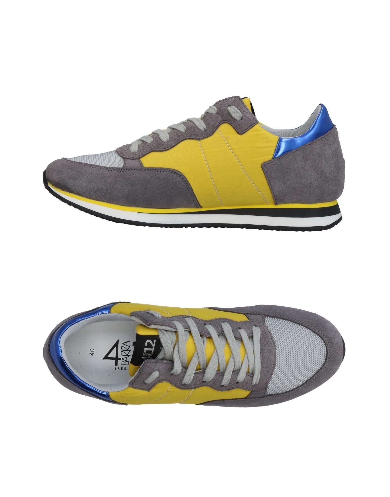 Rabatt echte Schuhe Quattrobarradodici Sneakers Herren  11457108EH