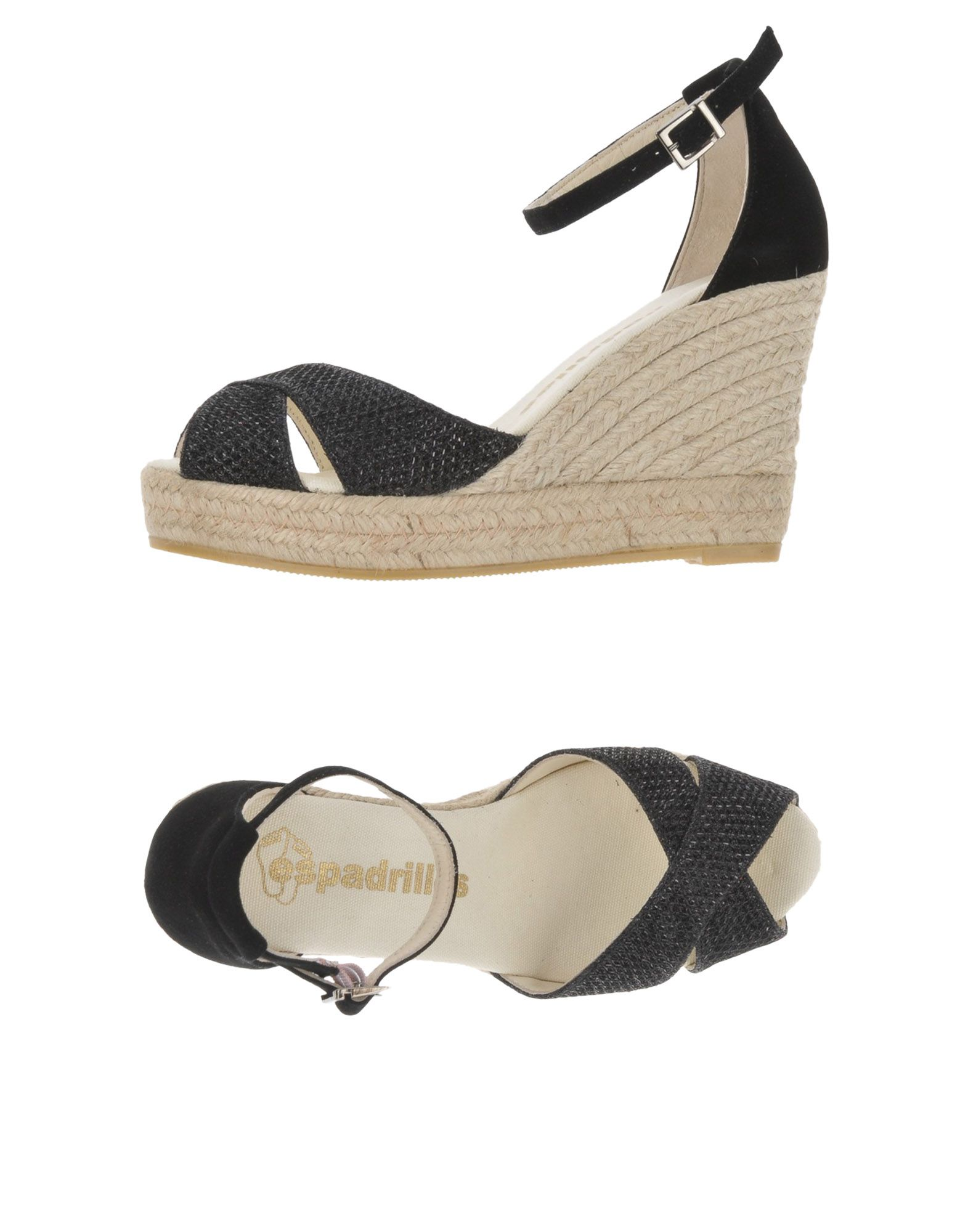 Günstige und modische Schuhe Espadrilles Sandalen Damen  11457148OG