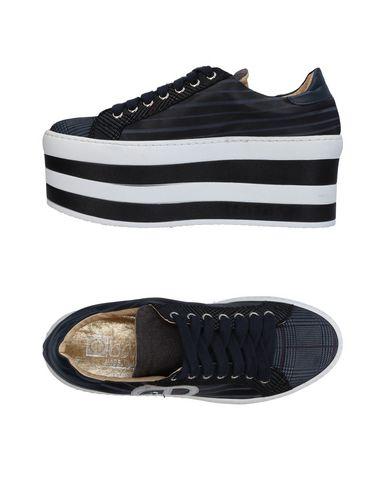 Scuro Sneakers Blu Scarpe Ebarrito Donna