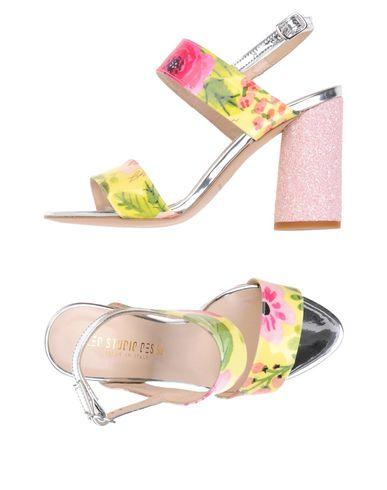 Zapatos de mujer baratos zapatos de mujer Sandalia Leo Studio Design Buckled Footbed Slide - Mujer - Sandalias Leo Studio Design - 11457433FG Marfil