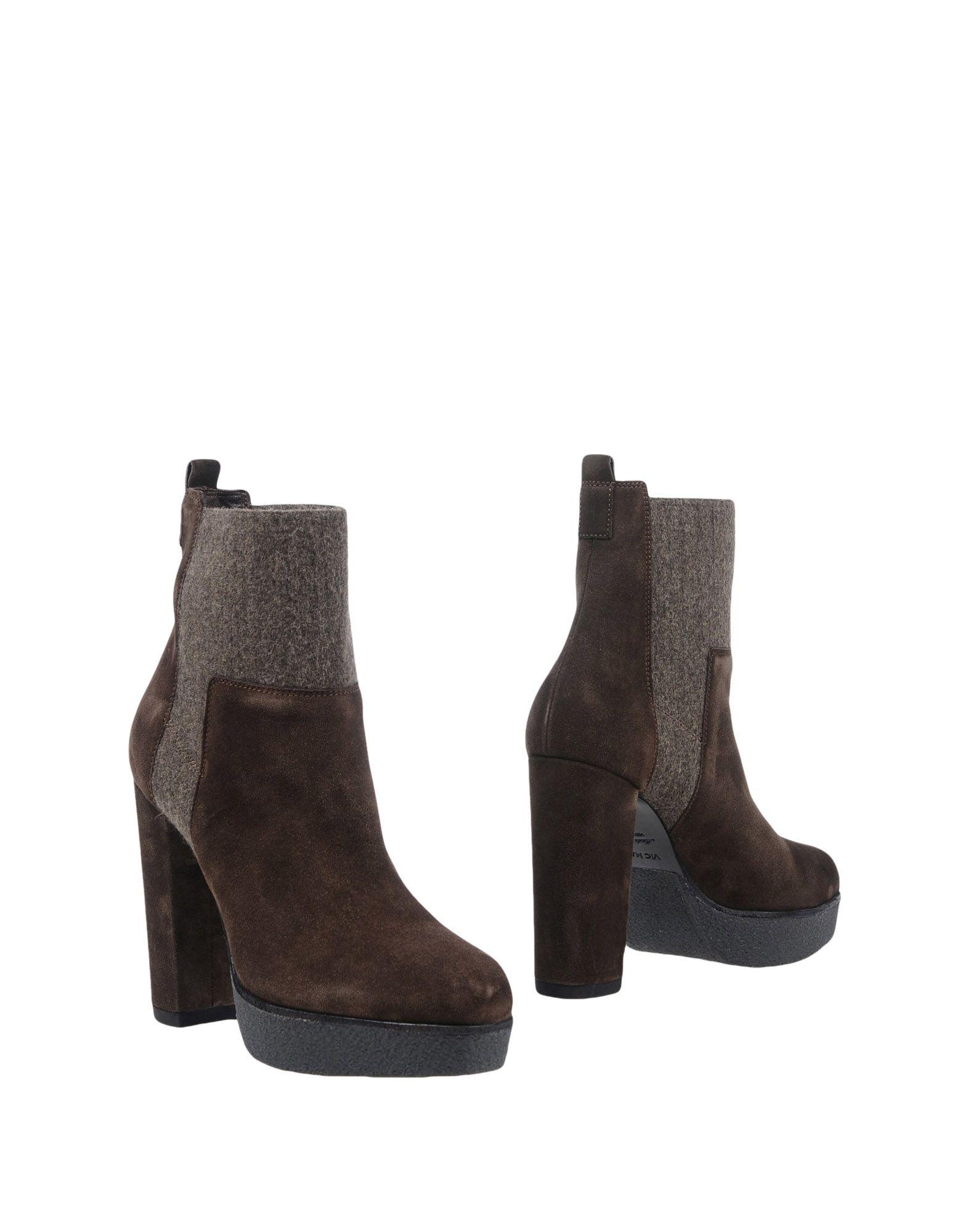 Vic Matiē aussehende Stiefelette Damen  11457513VEGut aussehende Matiē strapazierfähige Schuhe 18904c