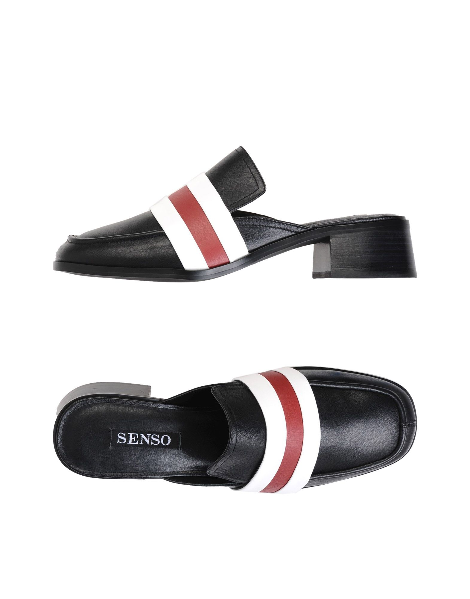 Mules Senso Esther I Sheep Nappa/Calf Wine - Femme - Mules Senso sur