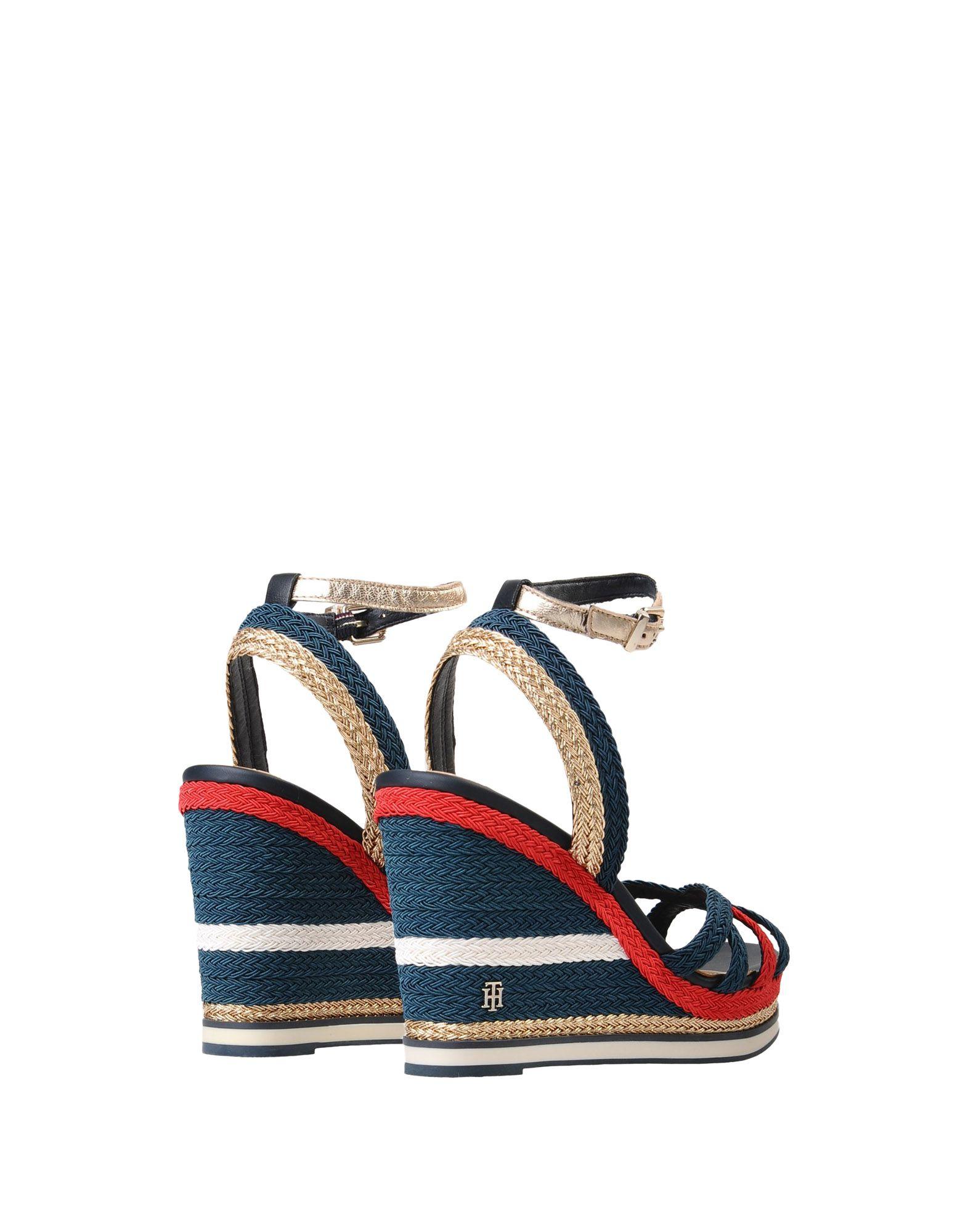 Sandales Tommy Hilfiger Corporate Wedge Sandal Sporty - Femme - Sandales Tommy Hilfiger sur