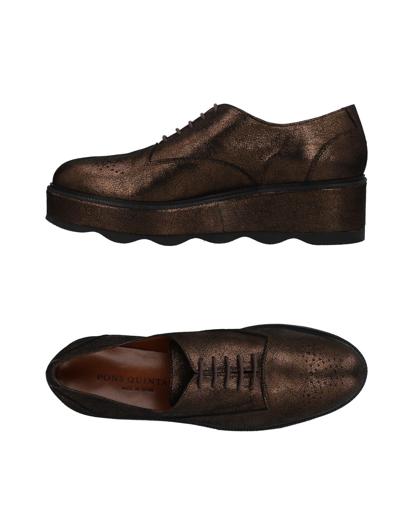 Gut um billige Schuhe Damen zu tragenPons Quintana Schnürschuhe Damen Schuhe  11457788NV 6613ea