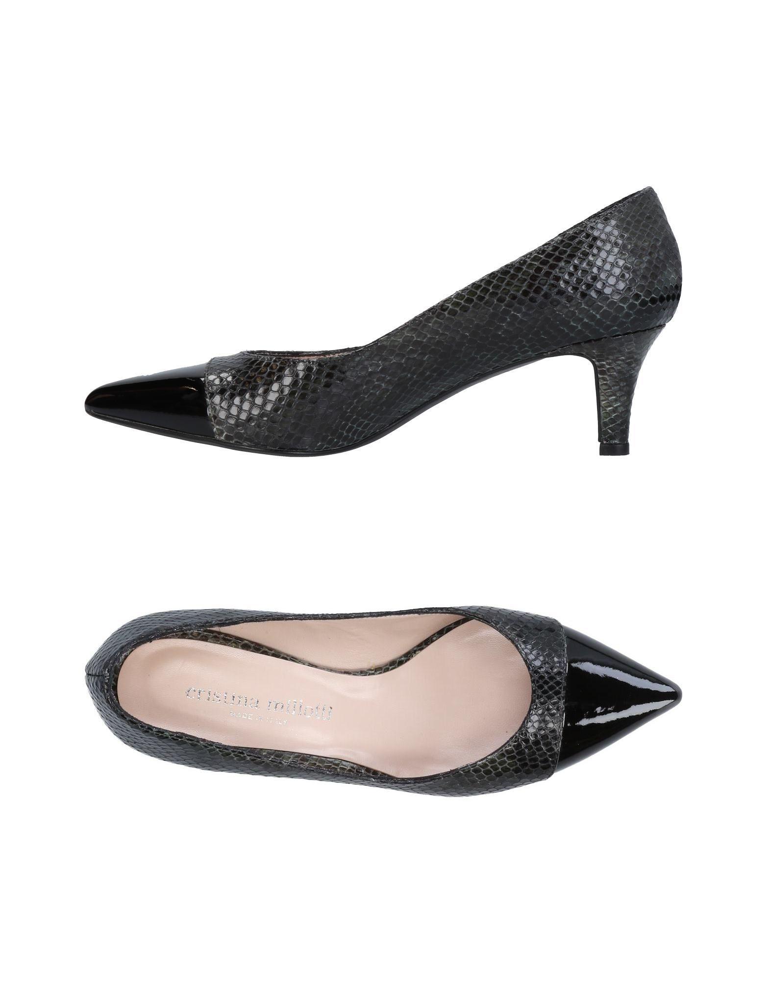 Los últimos zapatos de descuento para hombres y mujeres Cristina Zapato De Salón Cristina mujeres Millotti Mujer - Salones Cristina Millotti  Verde oscuro f41ed4