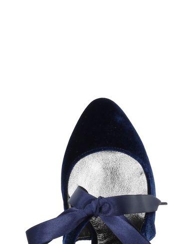 Foncé Cheville Escarpins Cheville Foncé Bleu Escarpins Bleu 6p1n7