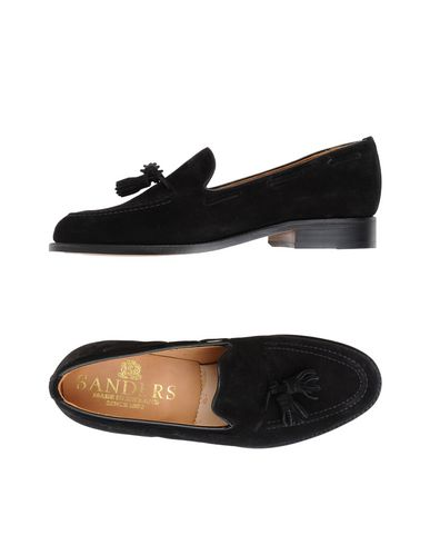 Zapatos con descuento Mocasín Sander's Finchley - Leather Black Suede Tassel Loafer, Leather - Sole - Hombre - Mocasines Sander's - 11458097KK Negro 7cb9b2